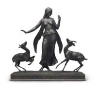 Dancer and Gazelles