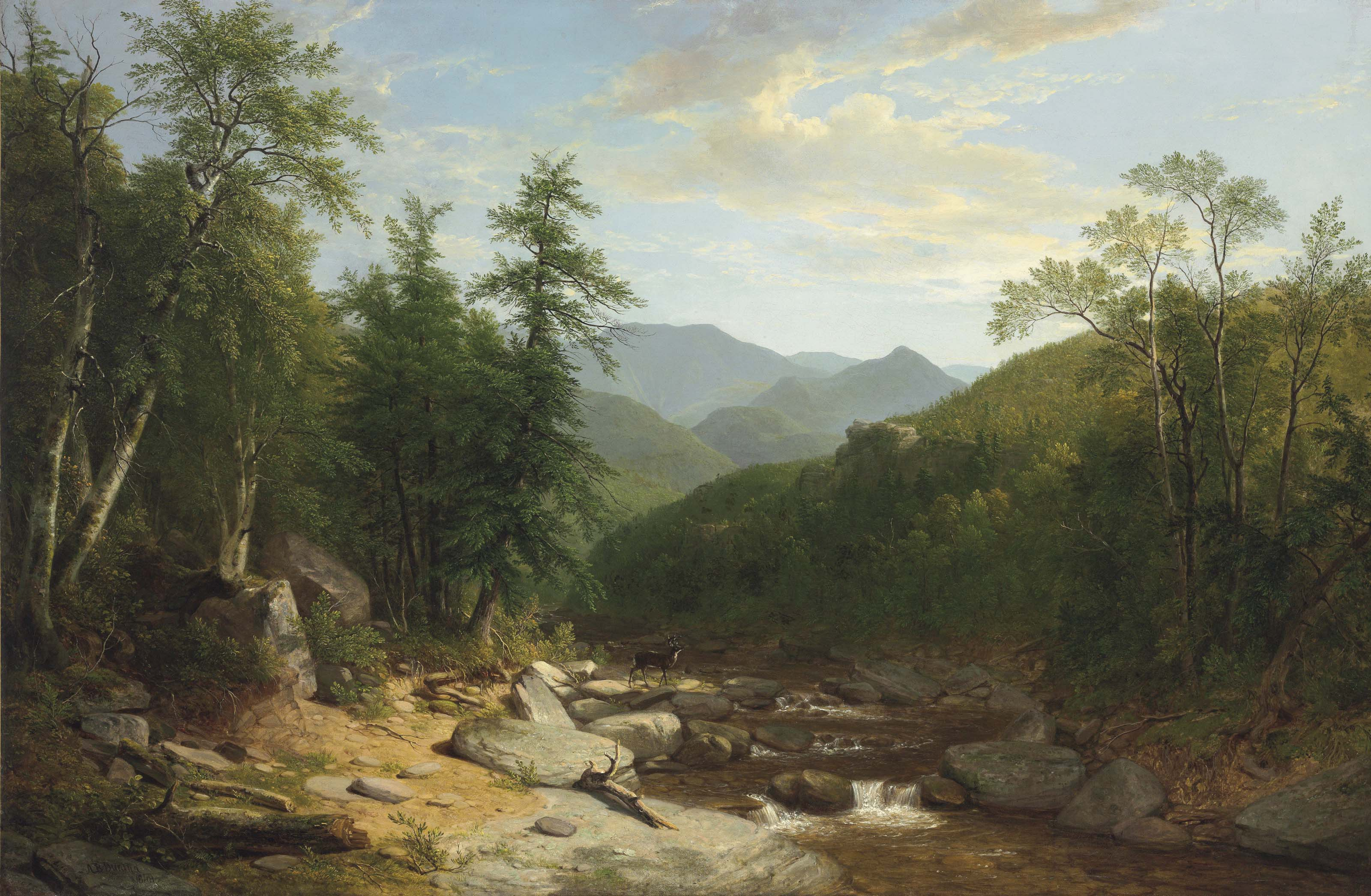 Asher Brown Durand Paintings For Sale