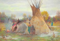 The Chief's Sweat Bath, Crow Reservation, Montana