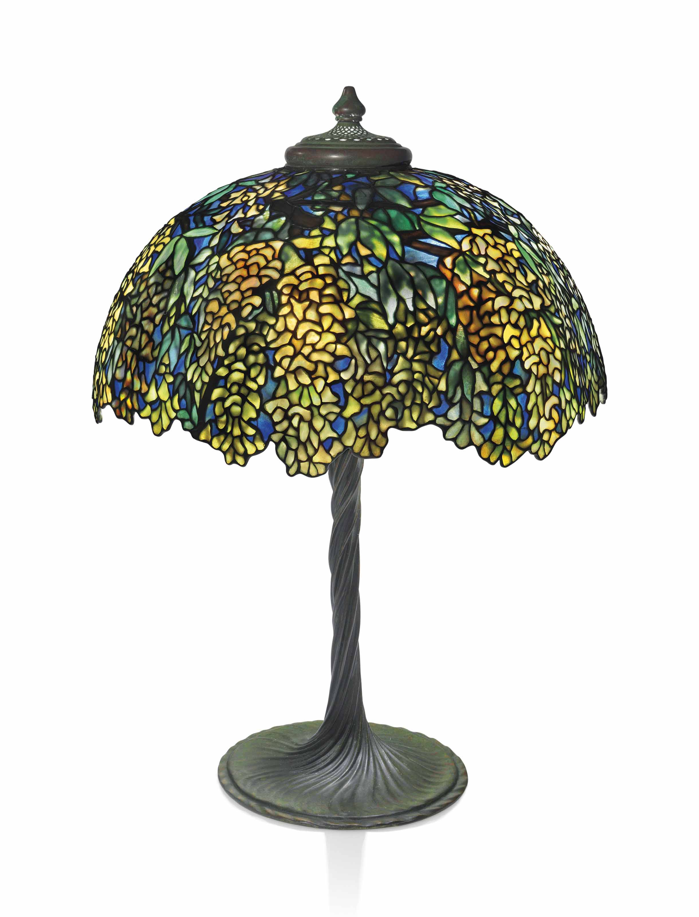 Tiffany Studios A Laburnum Table Lamp Circa 1910 Christie S