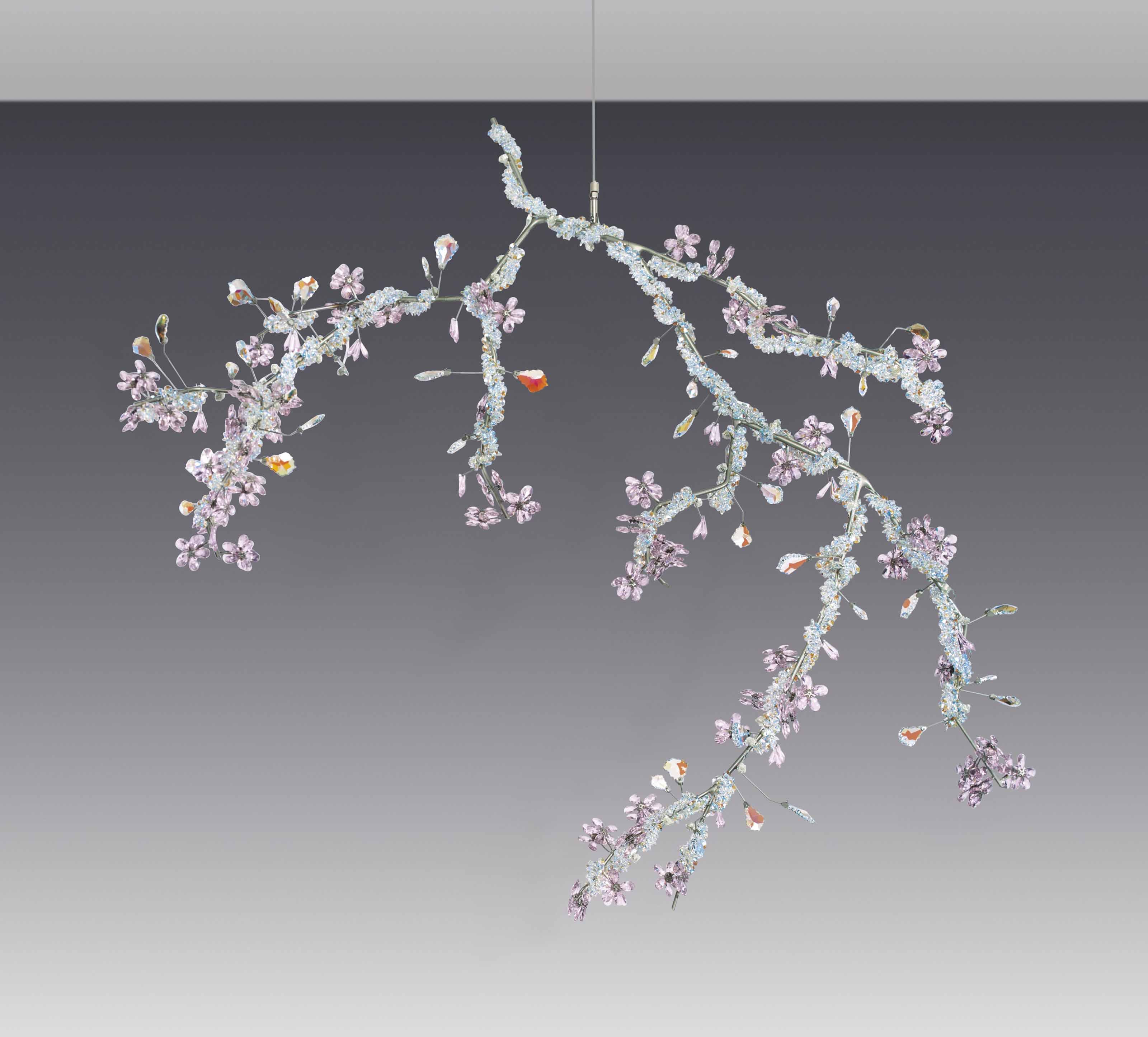 Tord Boontje B 1968 For Swarovski A Large Blossom Chandelier Designed 2002 Flowers Plants Christie S