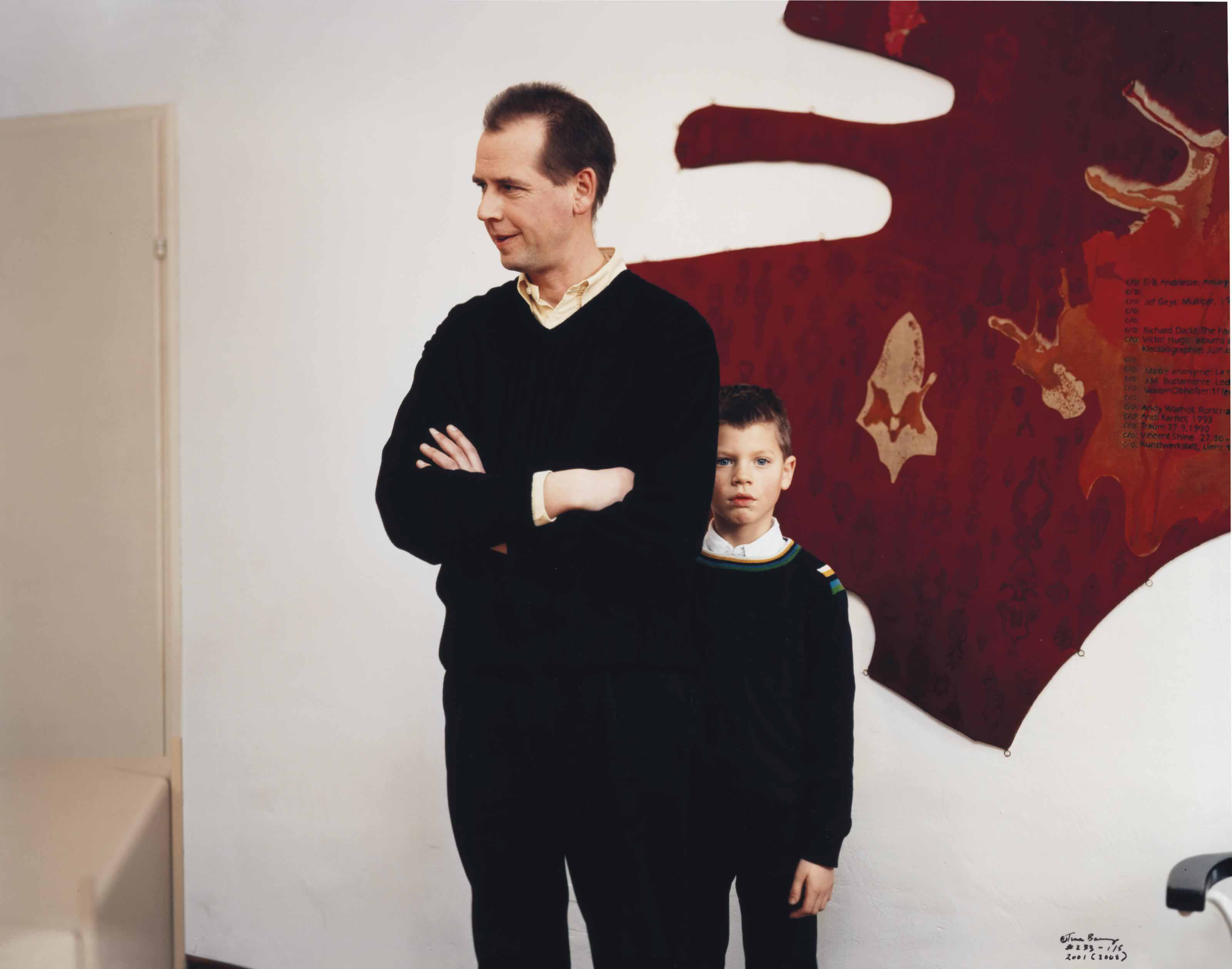 Art Dealer and Son, 2001