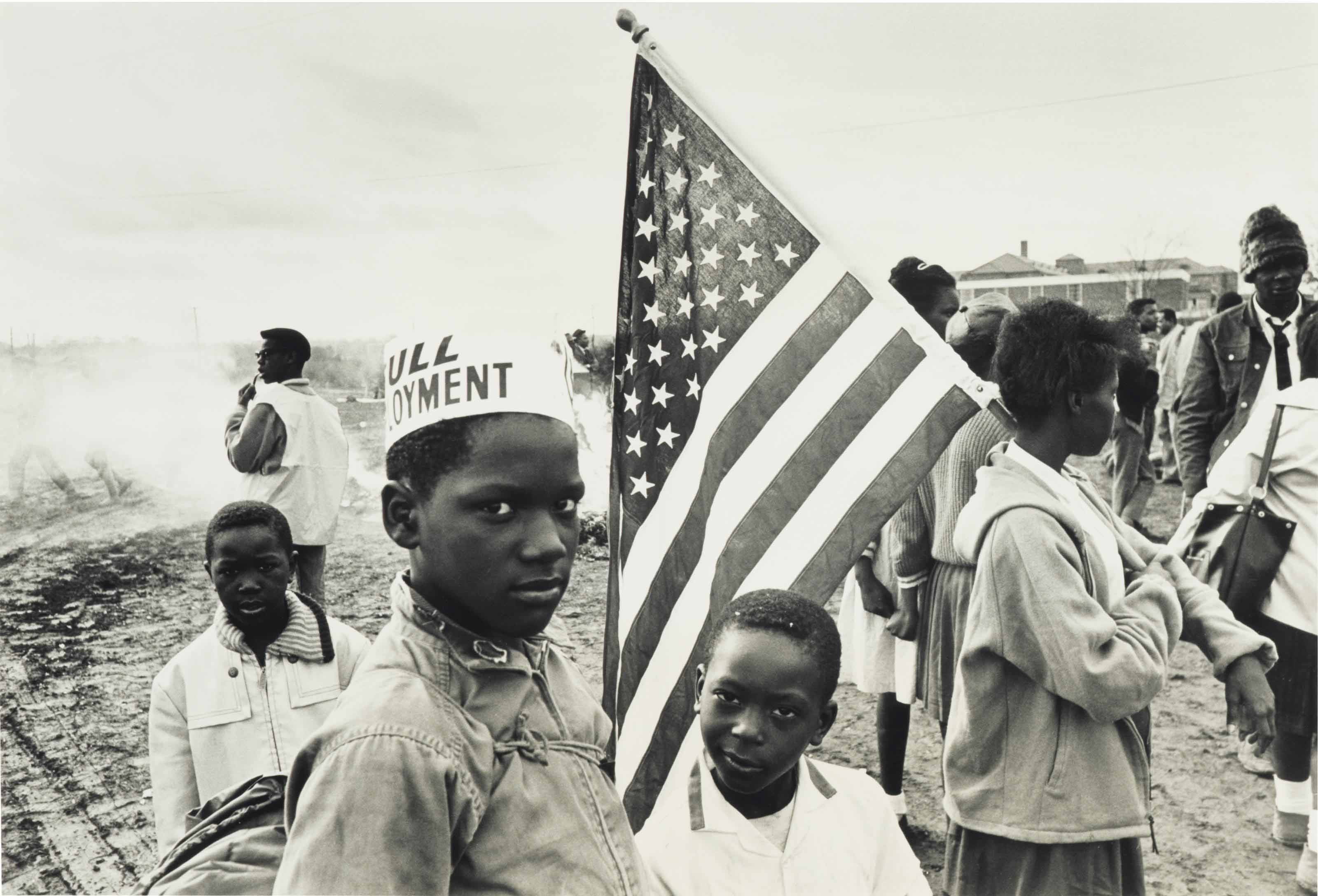 Untitled (Civil Rights march, Louisiana), 1964