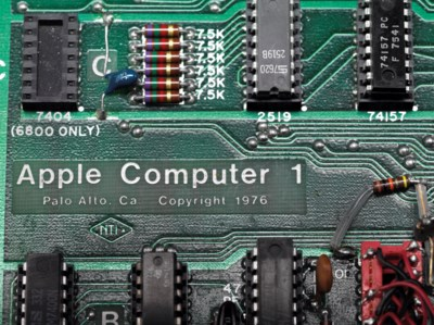 A WORKING APPLE-1 PERSONAL COM