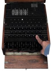 "A FOUR-ROTOR (""M4"") ENIGMA CIP"