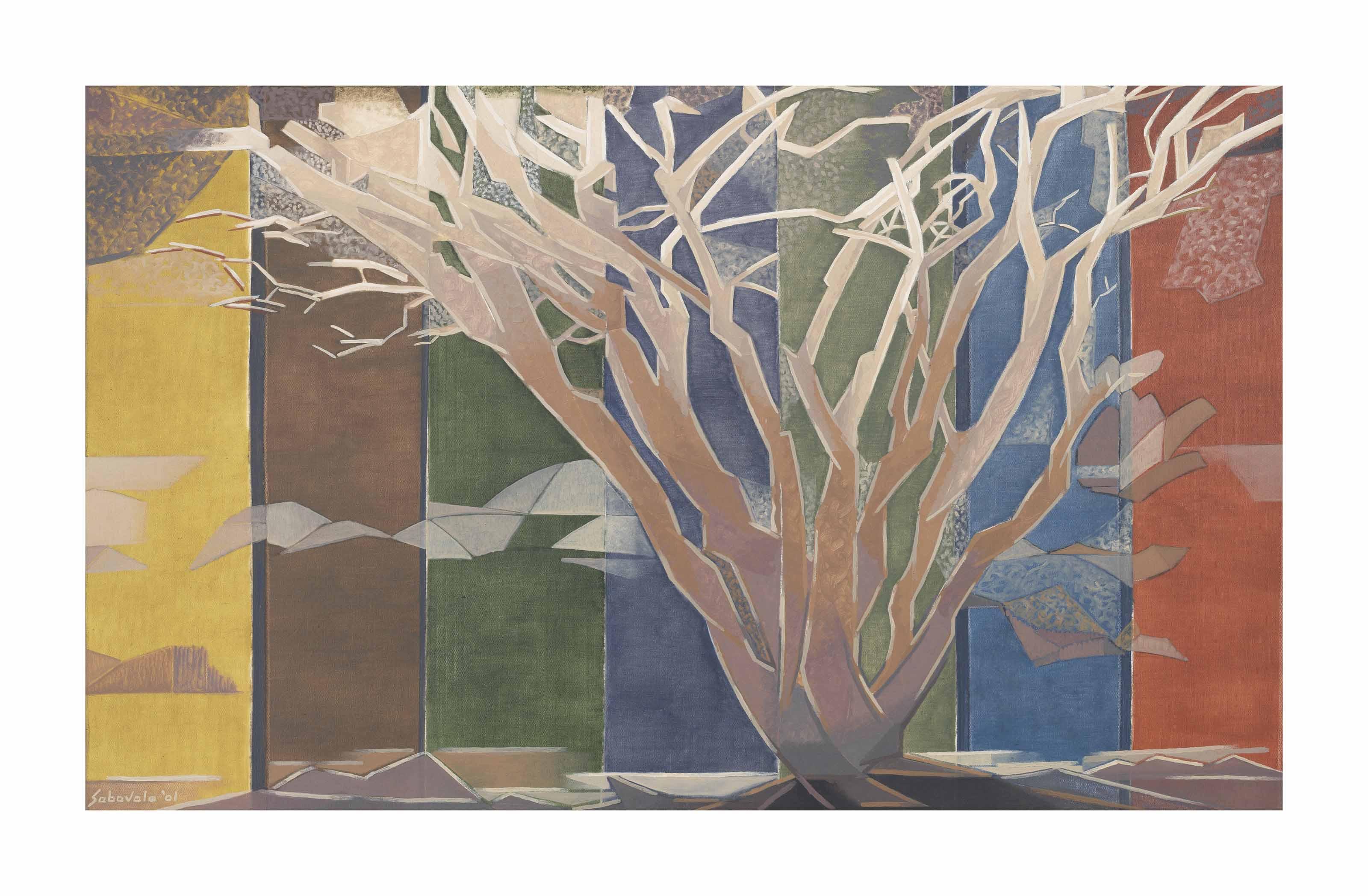 Stag-Antlered Tree II
