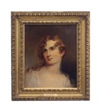 Portrait of a woman, presumably Elizabeth Sully