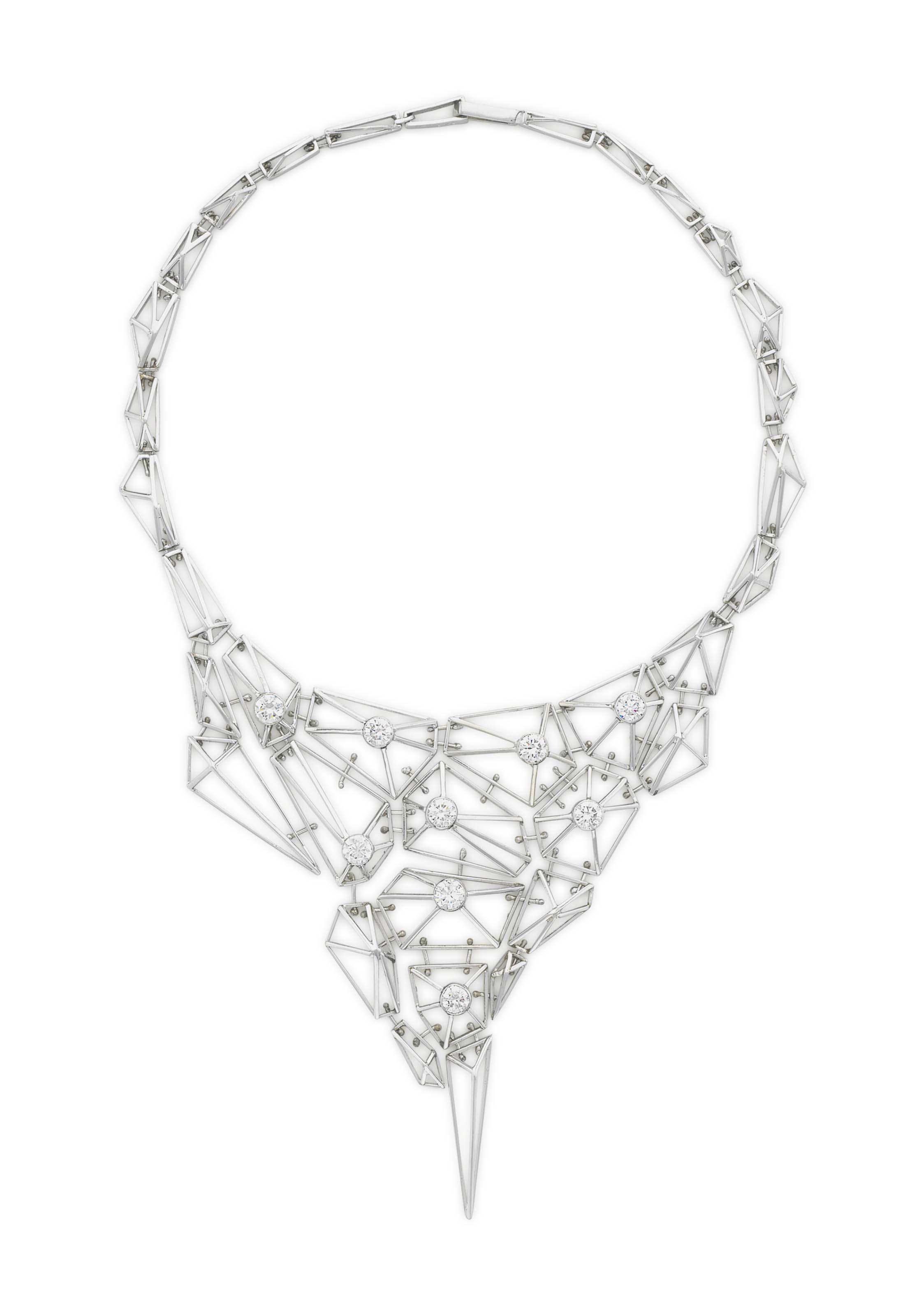 A DIAMOND NECKLACE, BY MARTIN VERNER