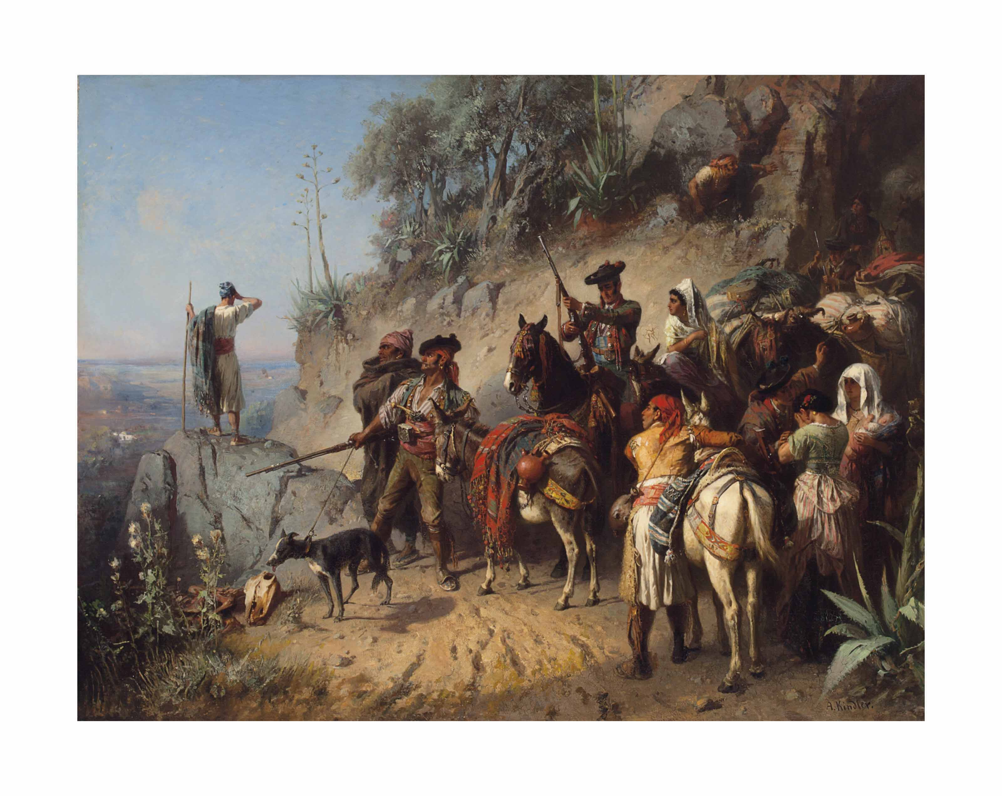 Spanish smugglers in the Pyrenees