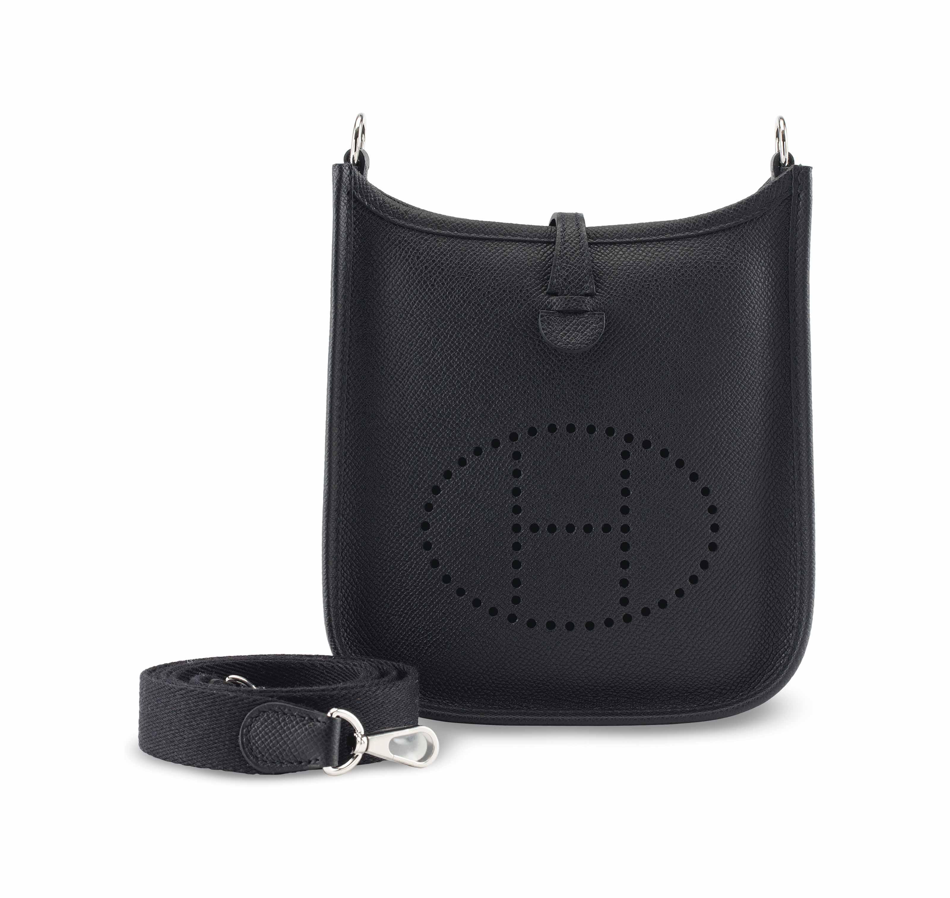 6af130451aca ... purchase a black epsom leather evelyne tpm with palladium hardware.  hermÈs 2016 8f0bb 940db