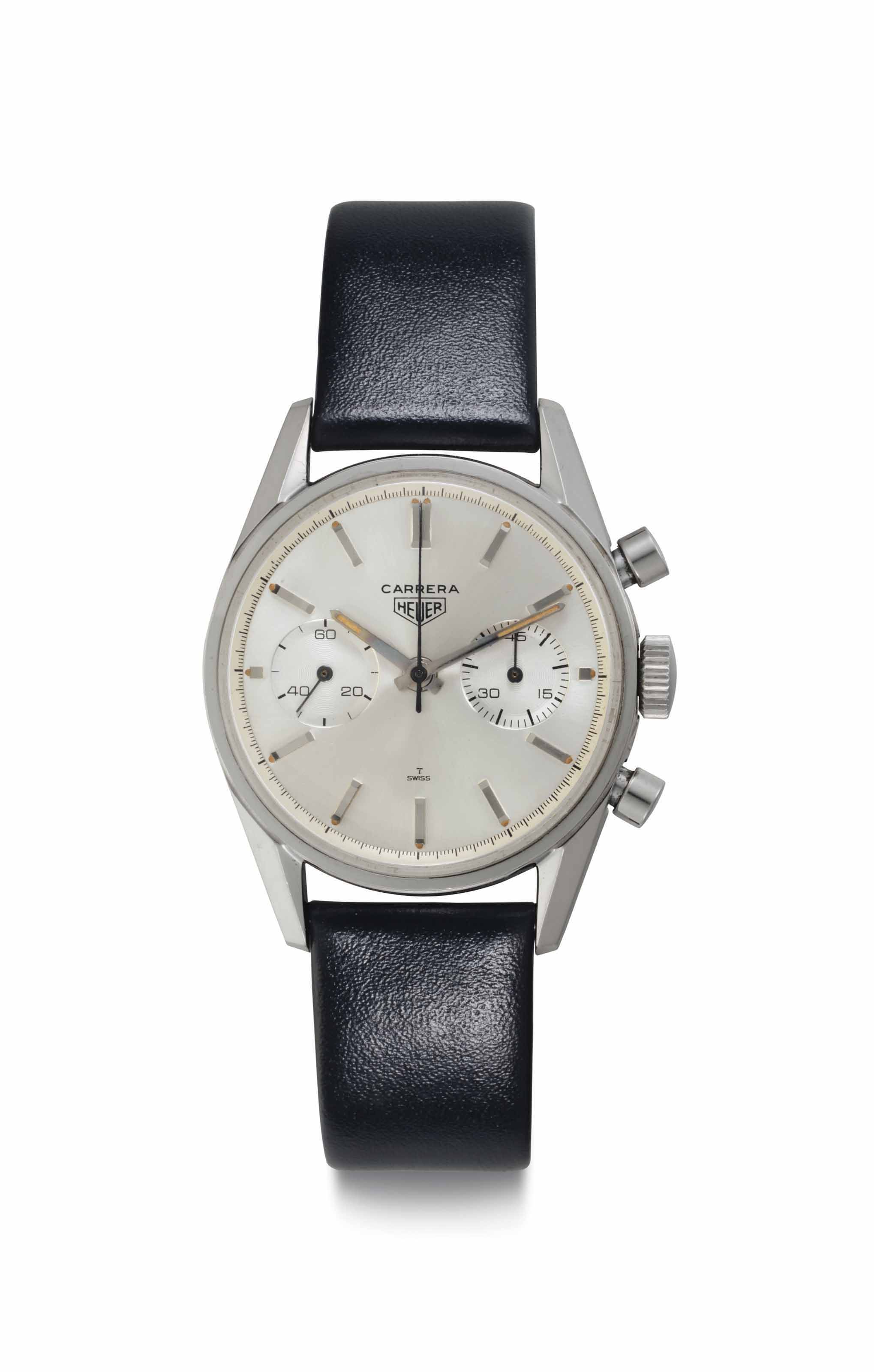 Heuer. A Fine Stainless Steel