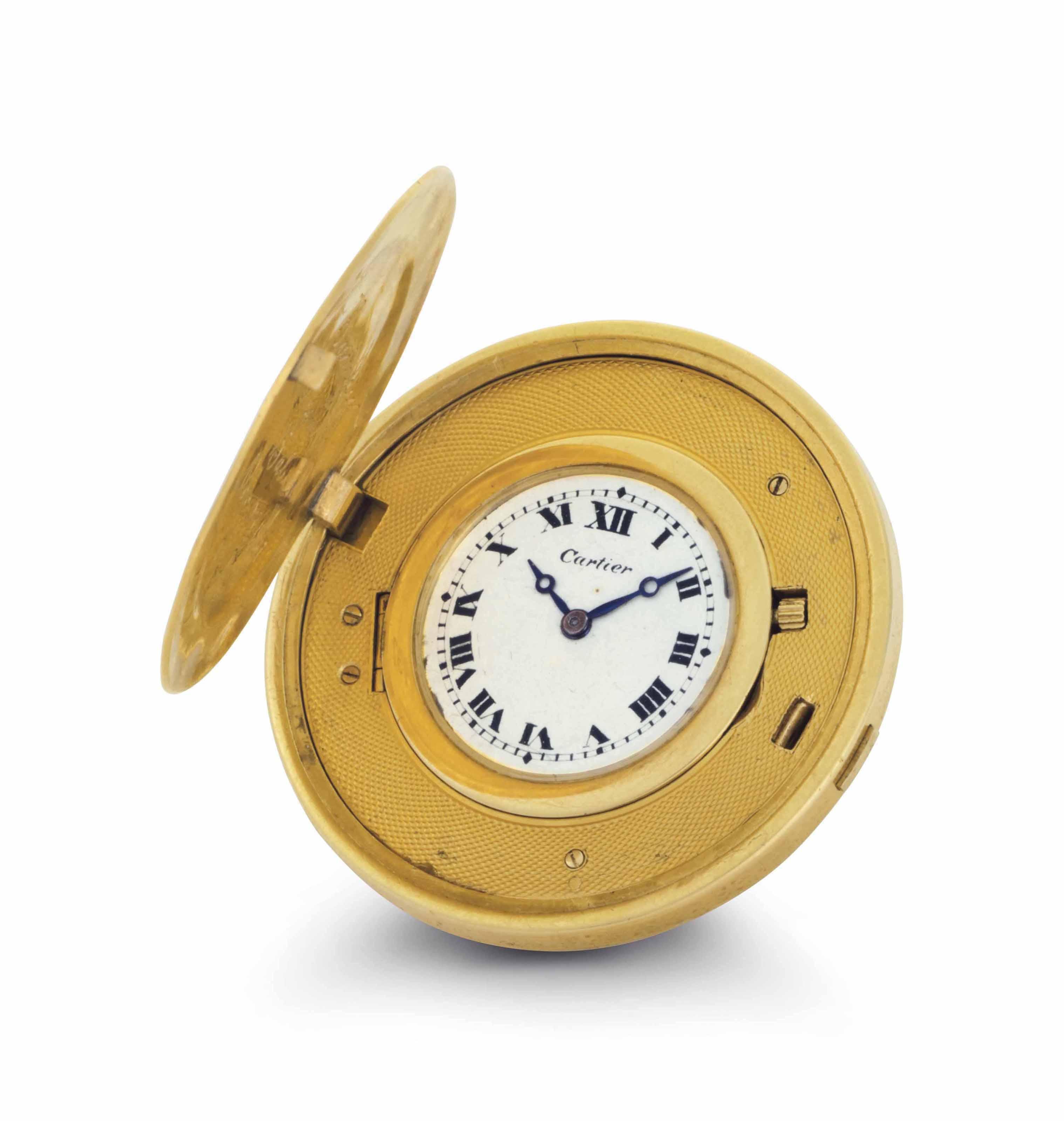 Cartier. A Fine 18k Gold Twent