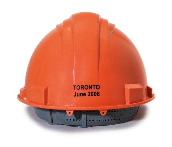 A CONSTRUCTION HAT