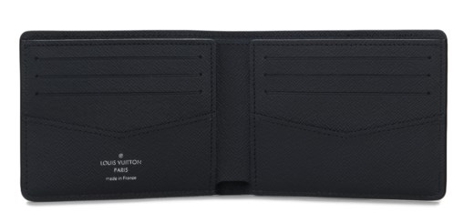 32402ebad332 A BLACK   WHITE EPI LEATHER BILLFOLD ZIP WALLET WITH SILVER HARDWARE BY  SUPREME
