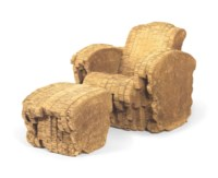 'Little Beaver' Chair and Ottoman