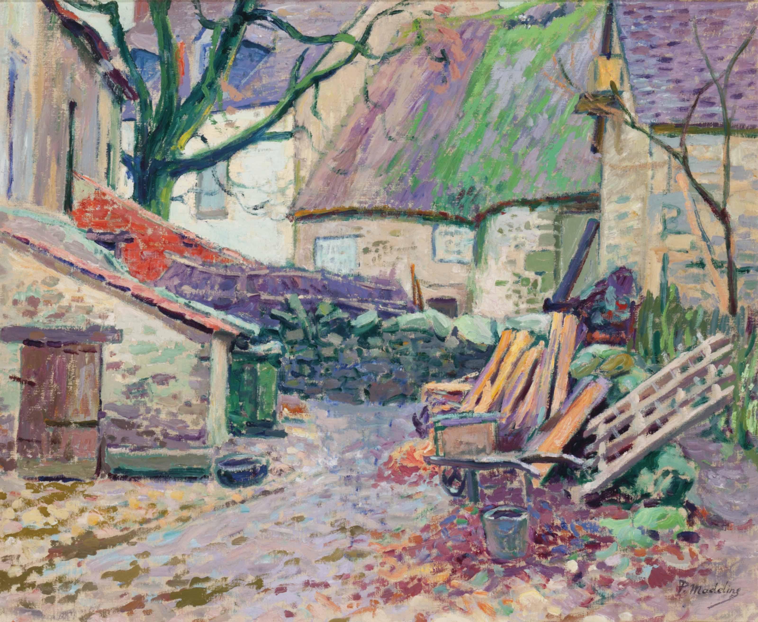 Vielles maisons à Crozant