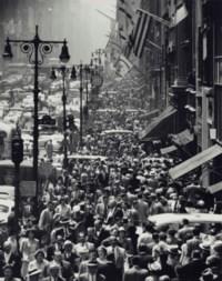 New York, Fifth Avenue, 1950