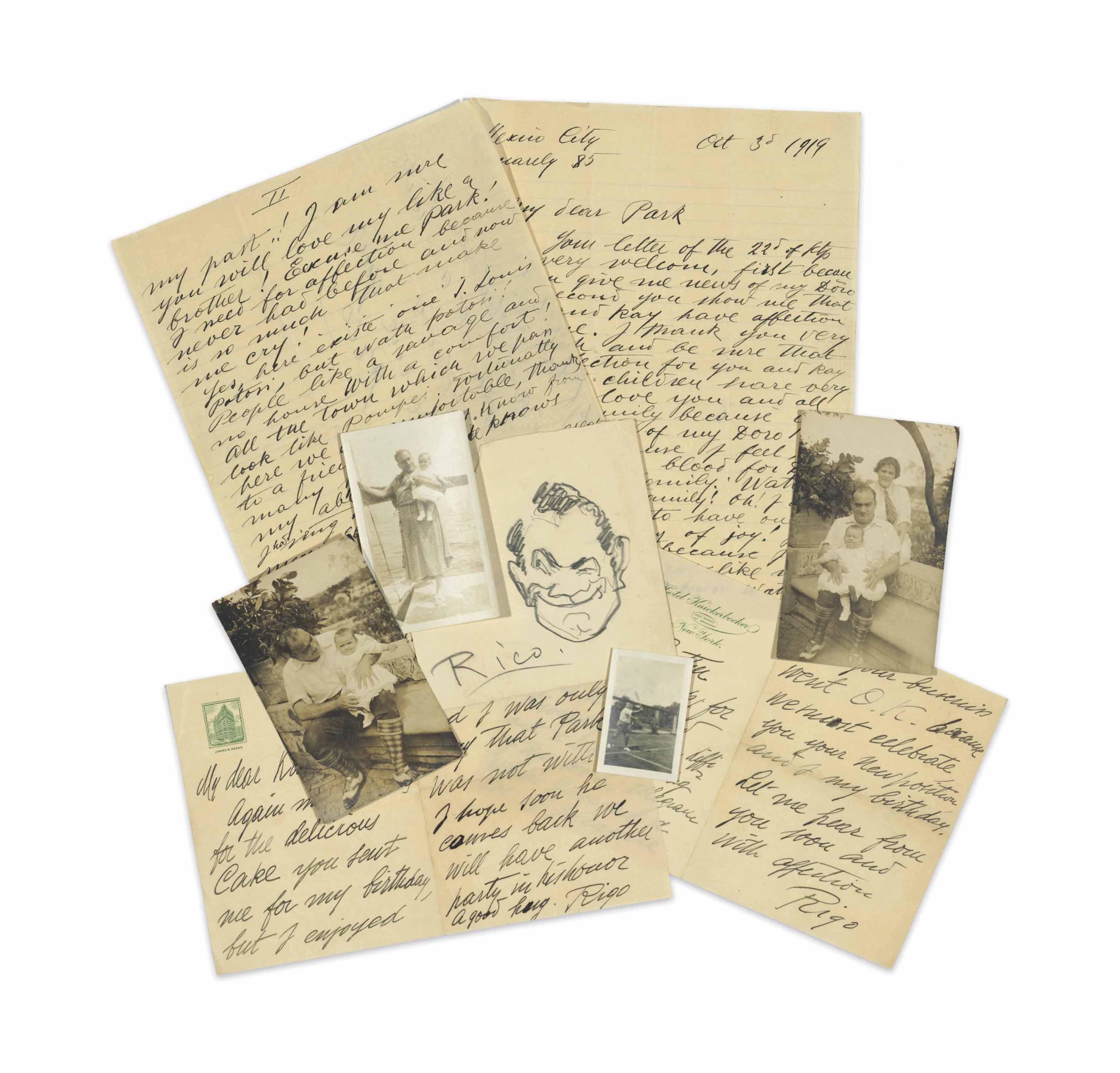 AUTOGRAPH COLLECTION – OPERA A collection of autograph lette...