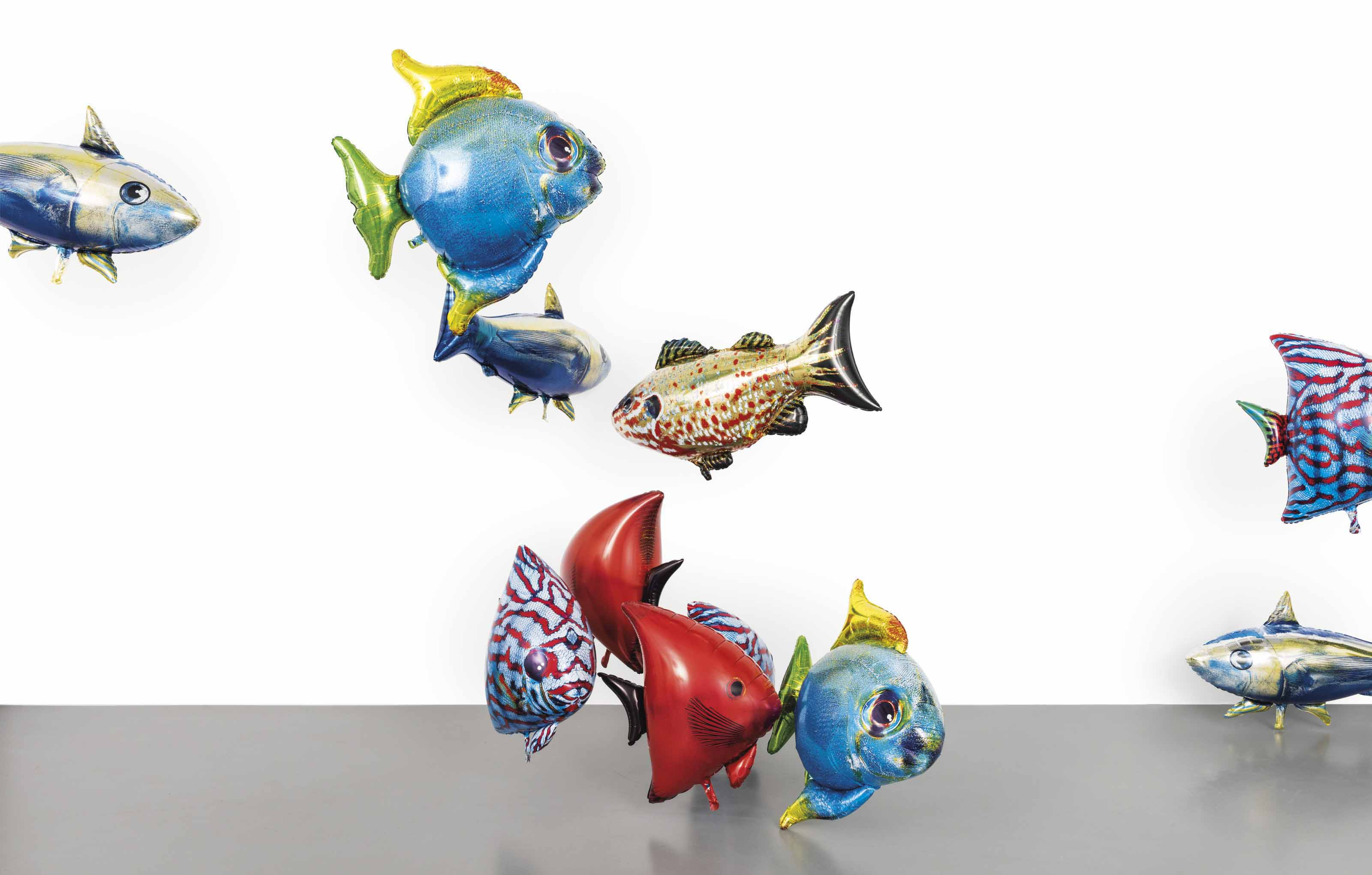 Philippe parreno b 1964 my room is another fish bowl for The fish 95 9
