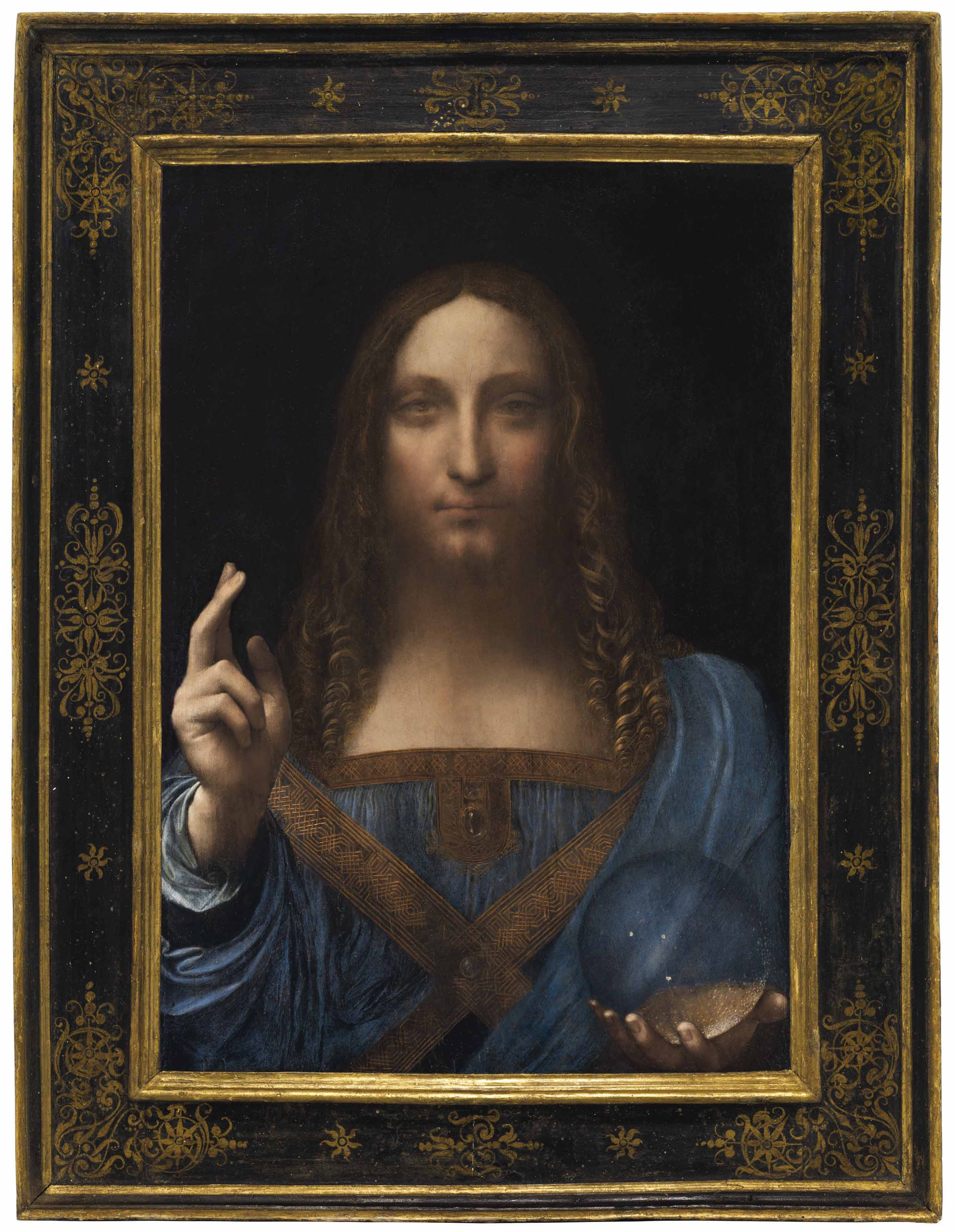 Salvator Mundi Leonardo Da Vinci Hd >> Leonardo Da Vinci 1452 1519 Salvator Mundi Paintings Italy