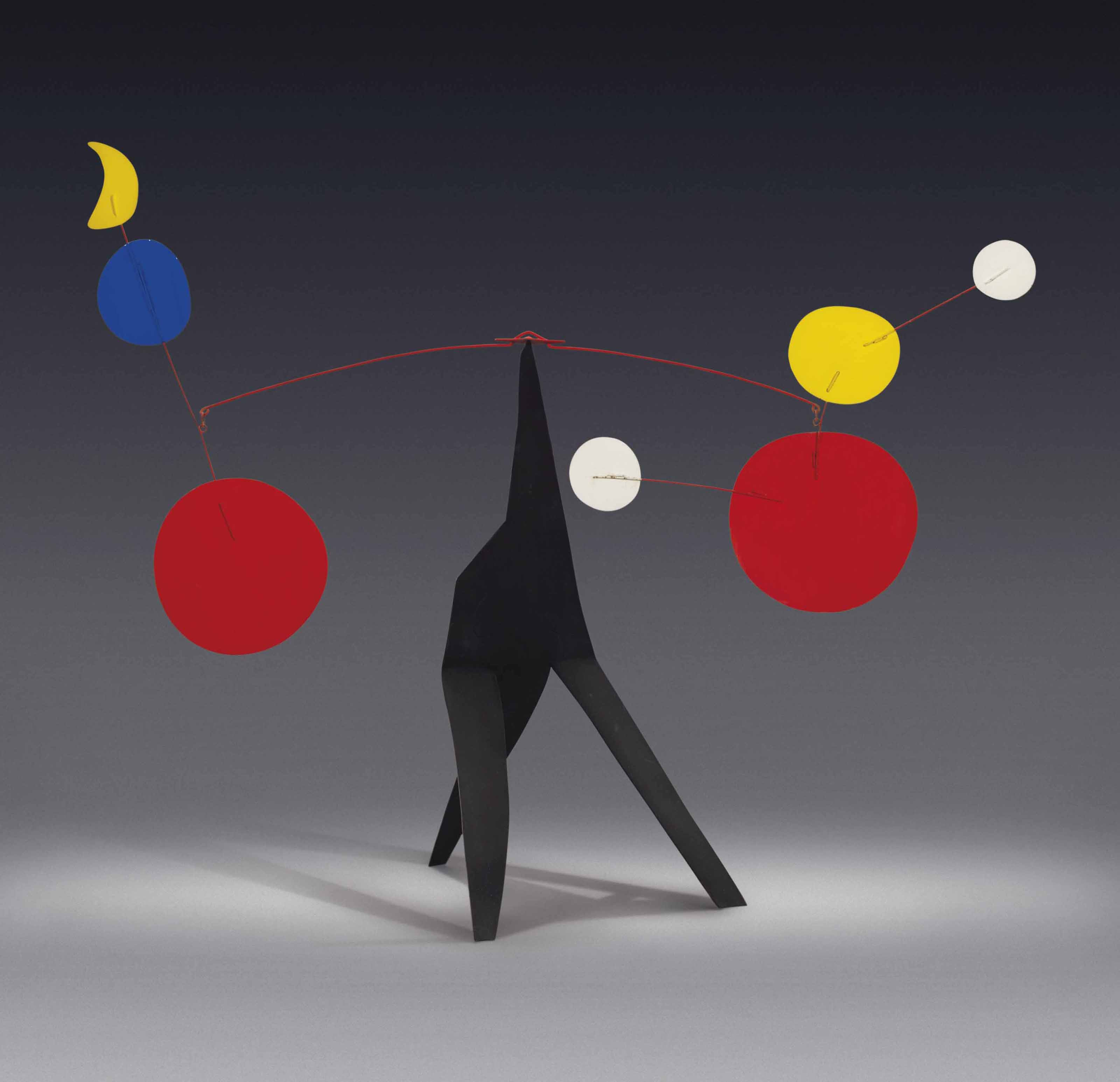 Alexander Calder 1898 1976 Two Toned Moon Christie S