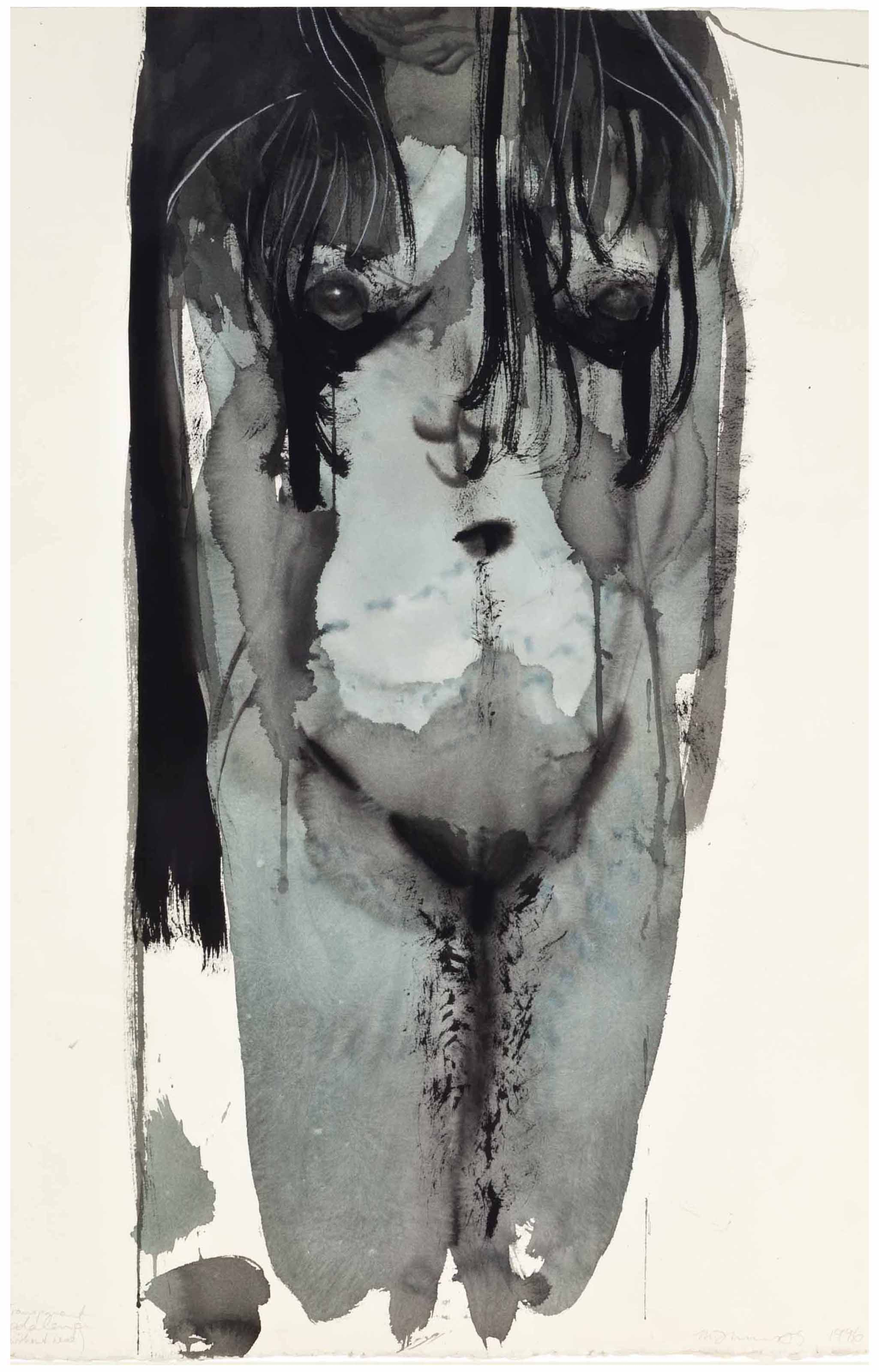 Marlene Dumas (b  1953) | Transparent Magdalena (without