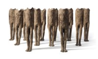 Flock (12 Standing Figures, from 'Ragazzi' Cycle)