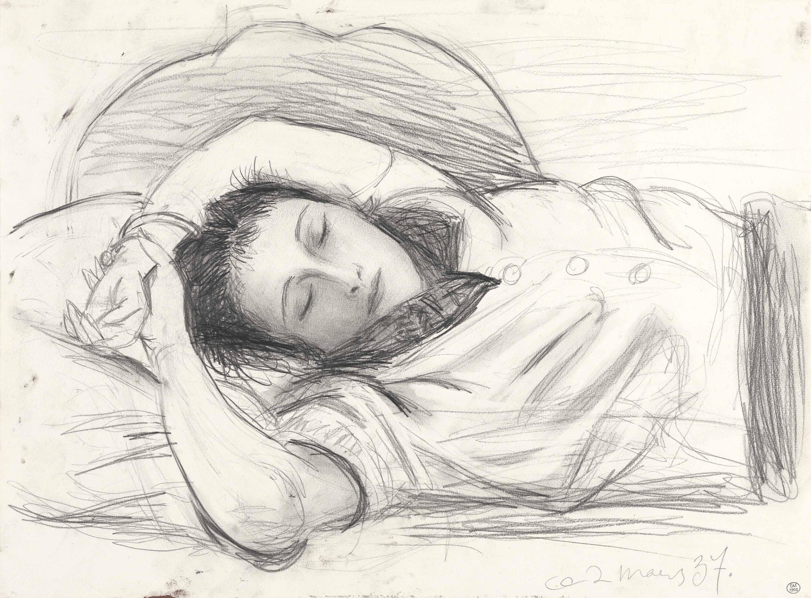 Pablo picasso 1881 1973 portrait de dora maar endormie 20th
