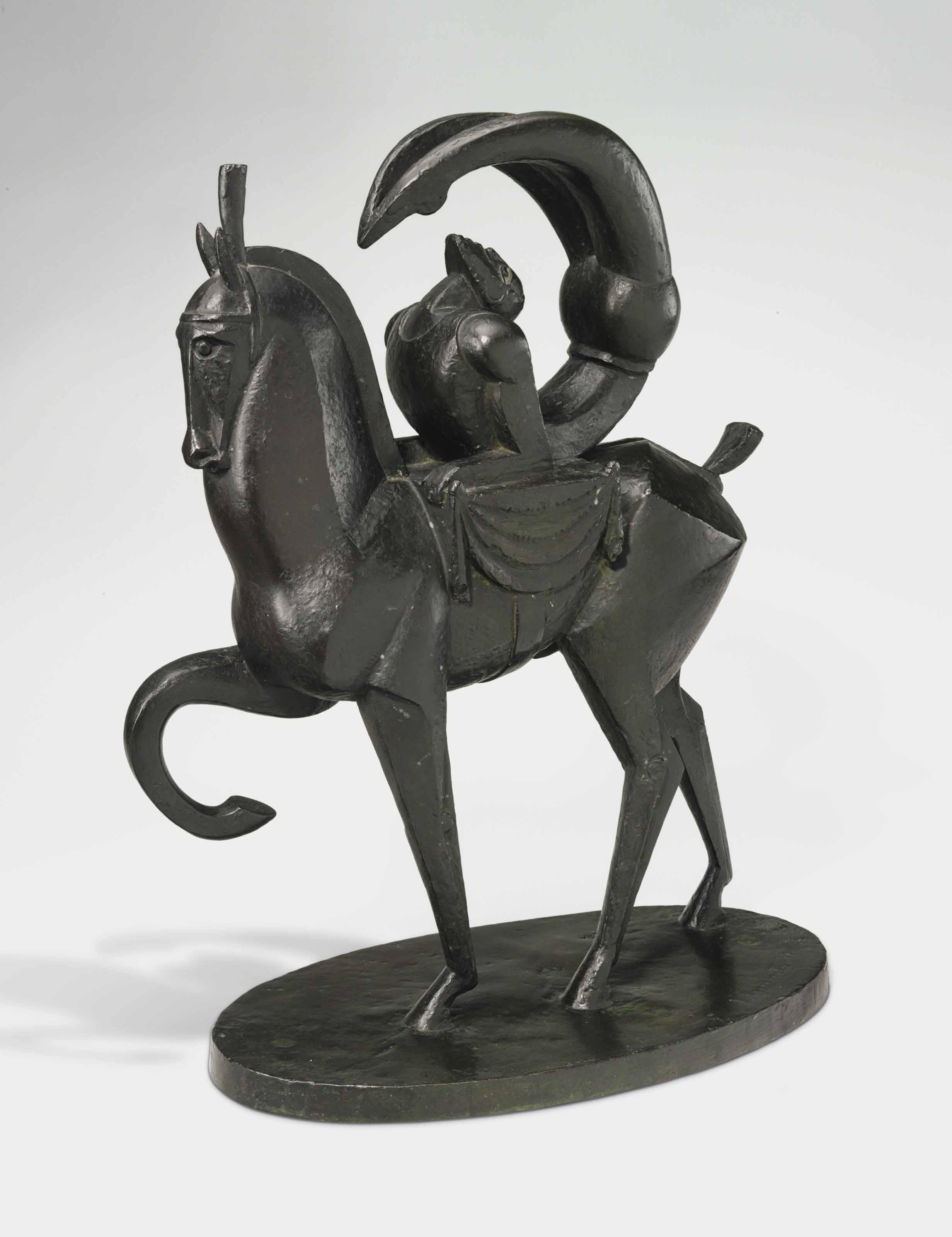 L'acrobate à cheval