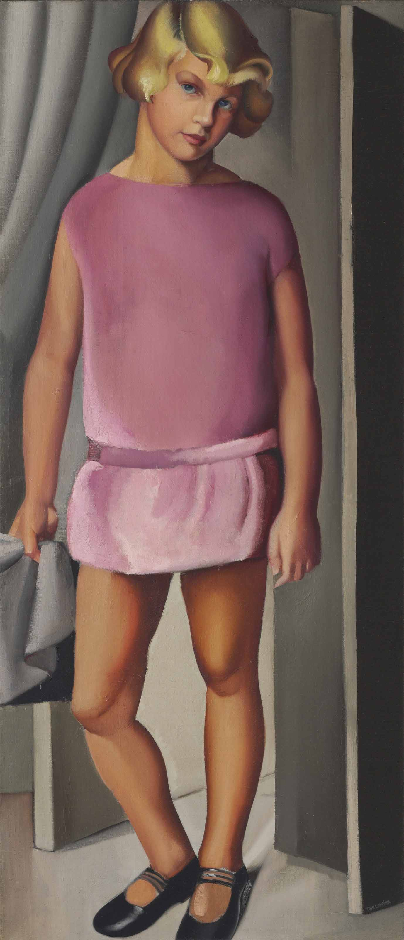 Tamara de Lempicka (1898-1980) | Portrait de Kizette | 19th Century, Paintings | Christie's