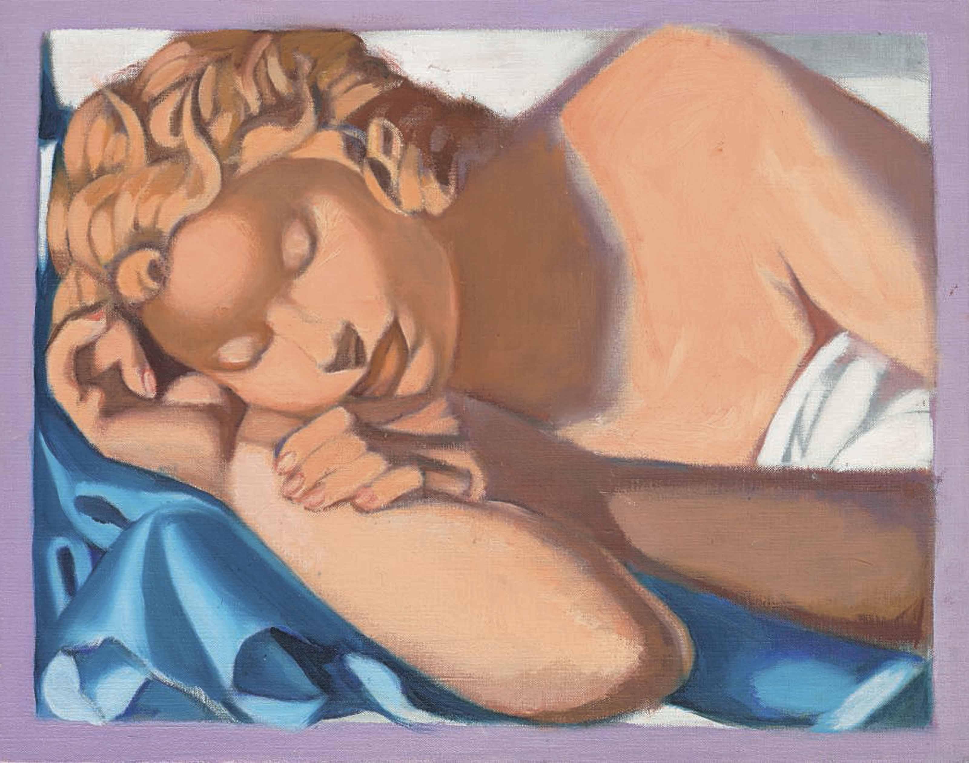 Tamara De Lempicka (1898-1980) | La Dormeuse IV (Kizette) | 20th Century, Paintings | Christie's