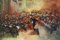 Salle Gaveau, le grand orchestre