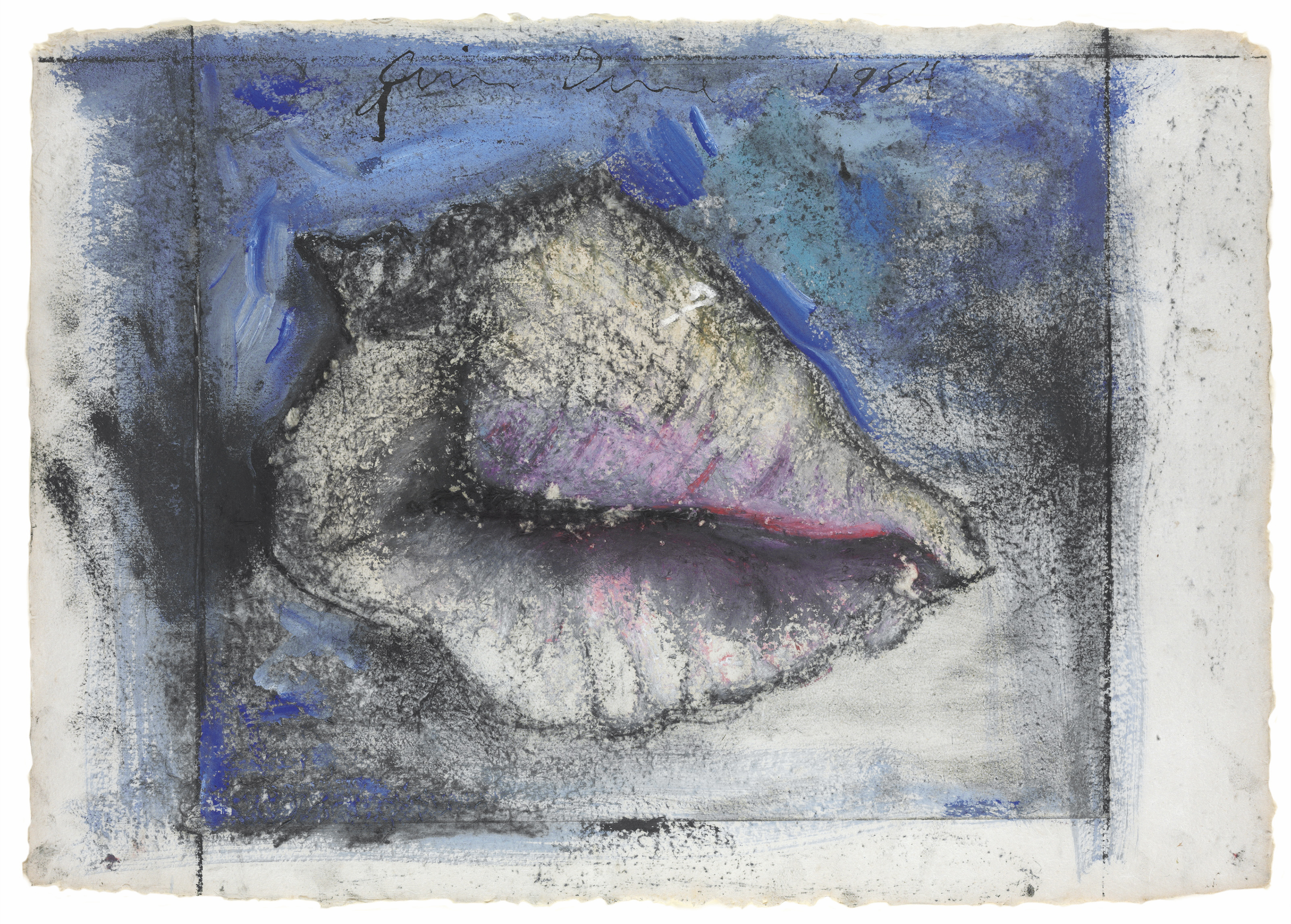 Jim Dine B 1935 Shell Study Flowers 3 Christie S Jim
