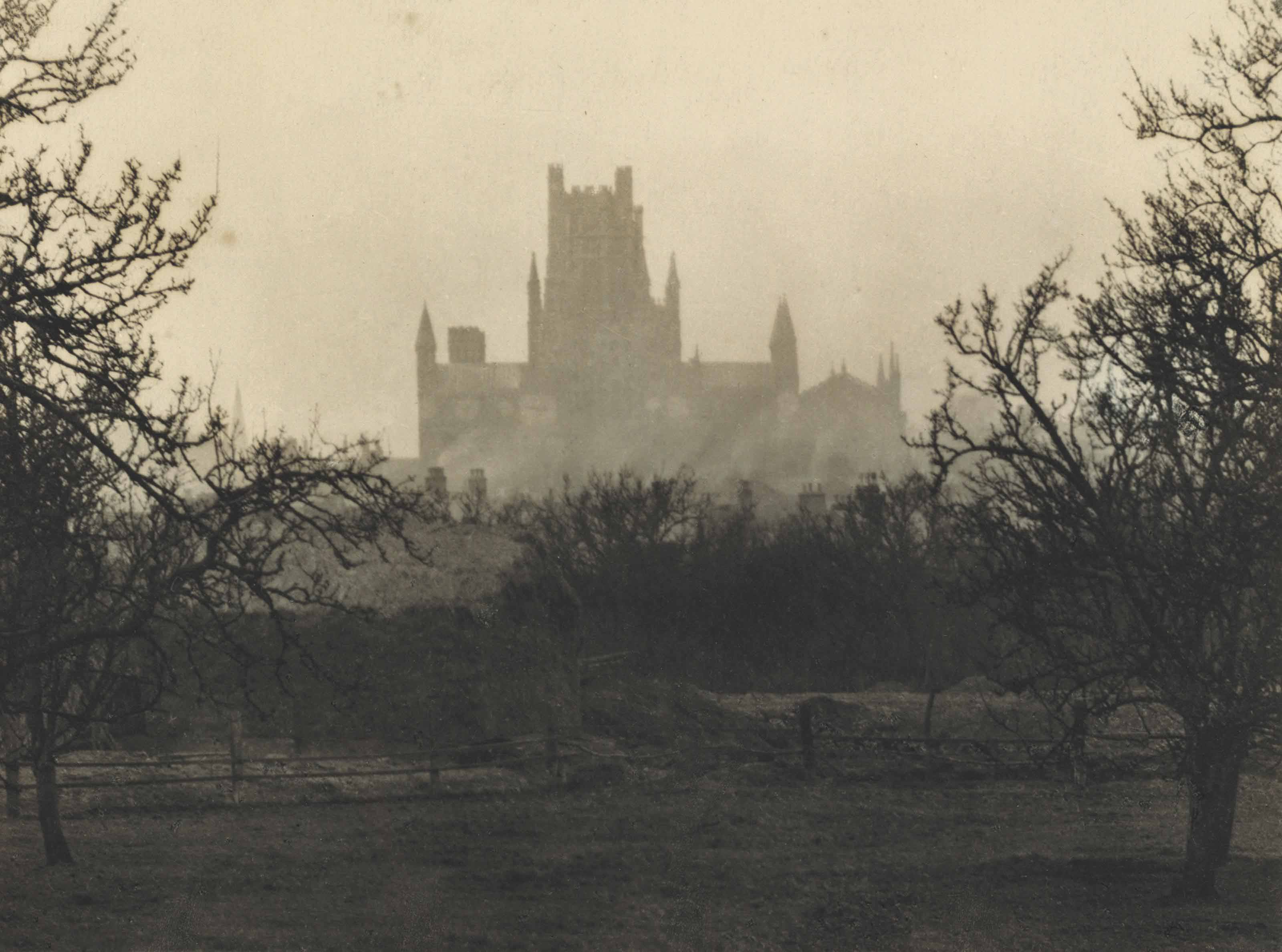 Ely Cathedral: Evening View from the East, 1916