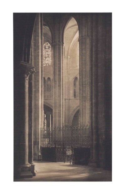 frederick h evans 1853 1943 height and light in bourges cathedral 1900 christie 39 s. Black Bedroom Furniture Sets. Home Design Ideas