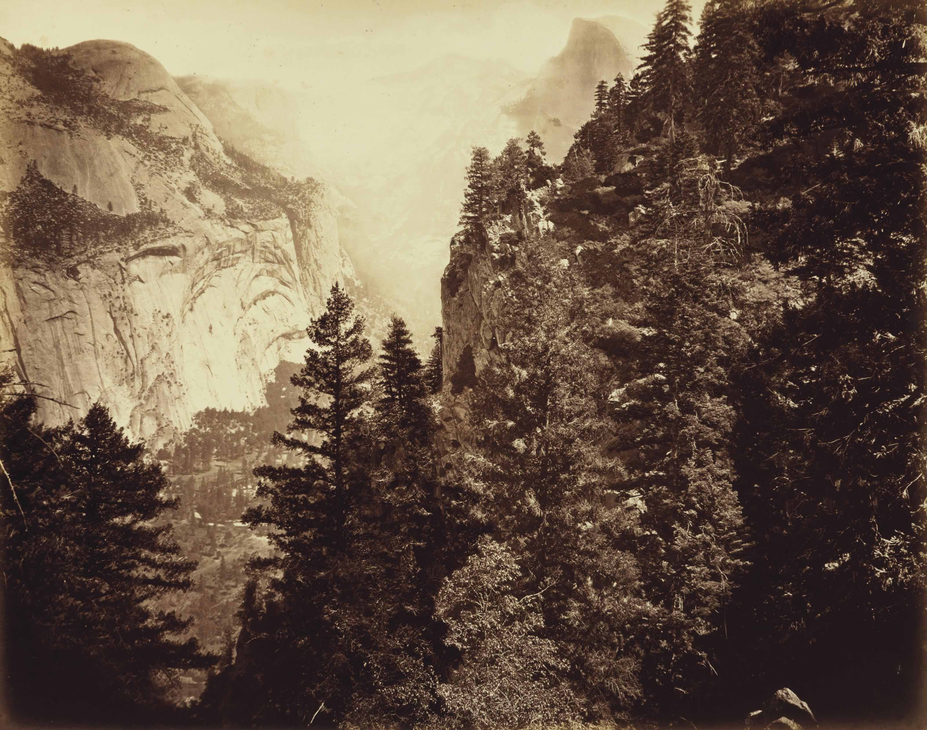 Tenaya Canyon: Valley of the Yosemite, 1872