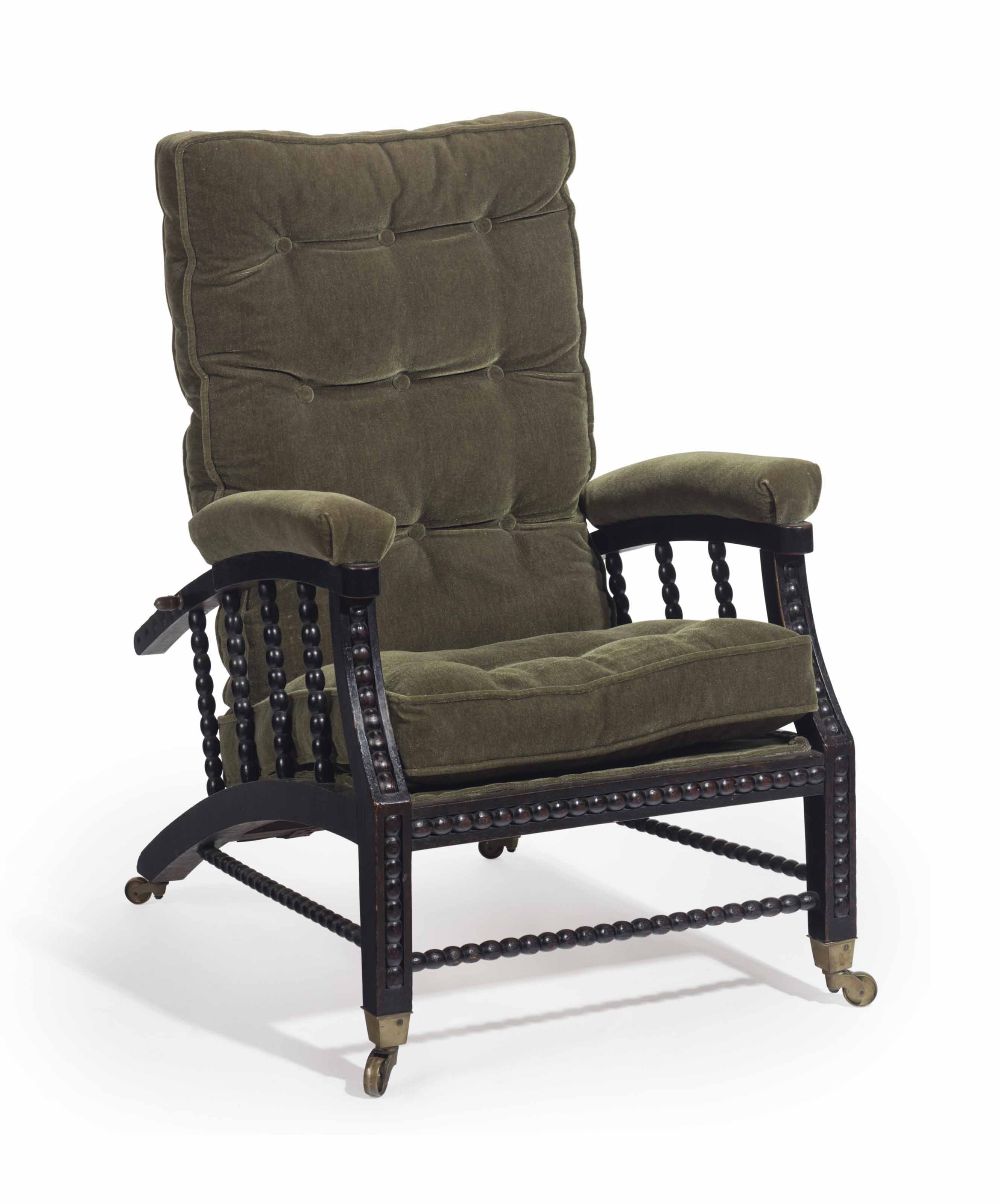 Astounding Philip Webb 1831 1915 A Morris Reclining Armchair Gmtry Best Dining Table And Chair Ideas Images Gmtryco