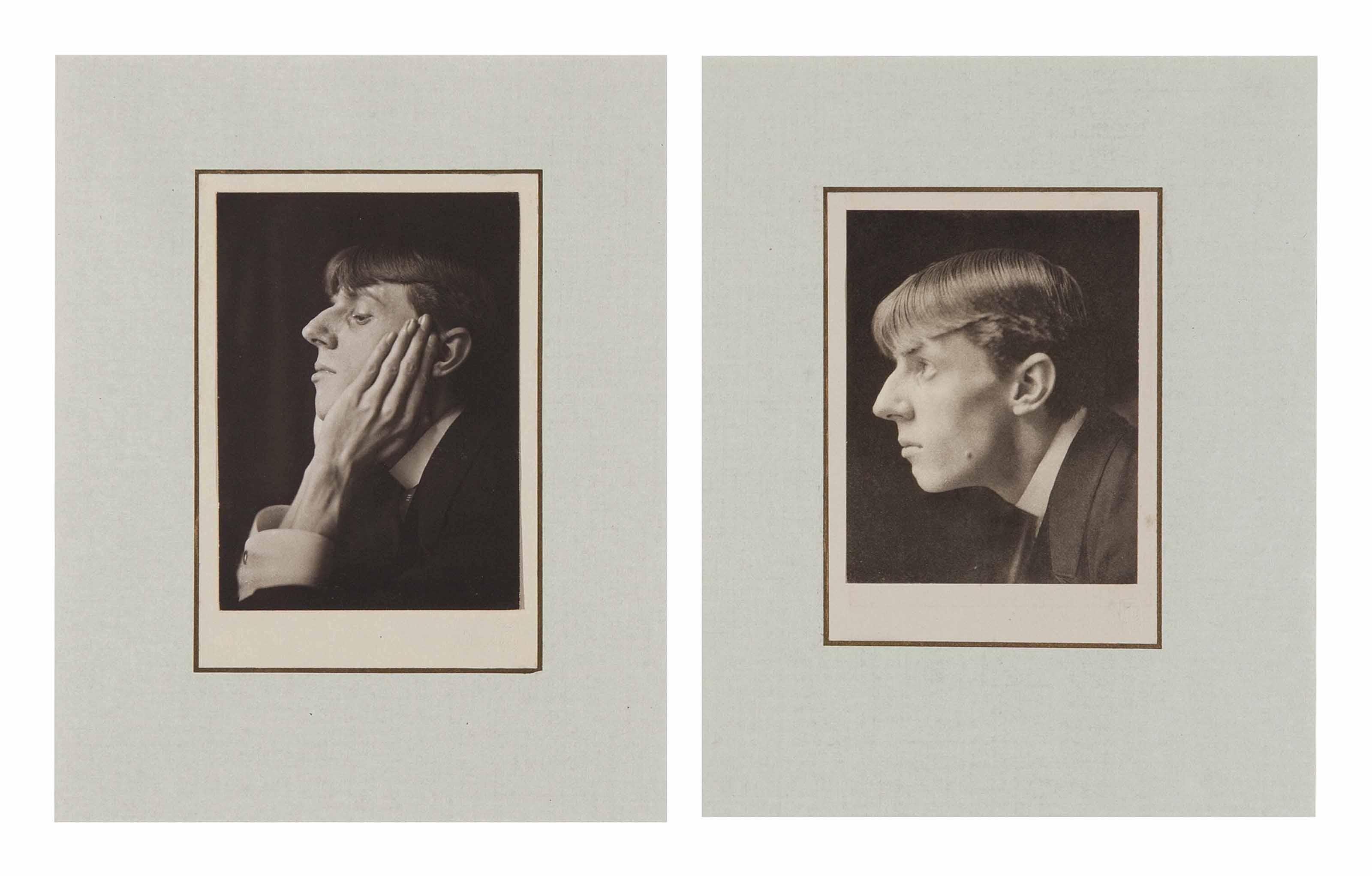 Double Portrait of Aubrey Beardsley, 1894