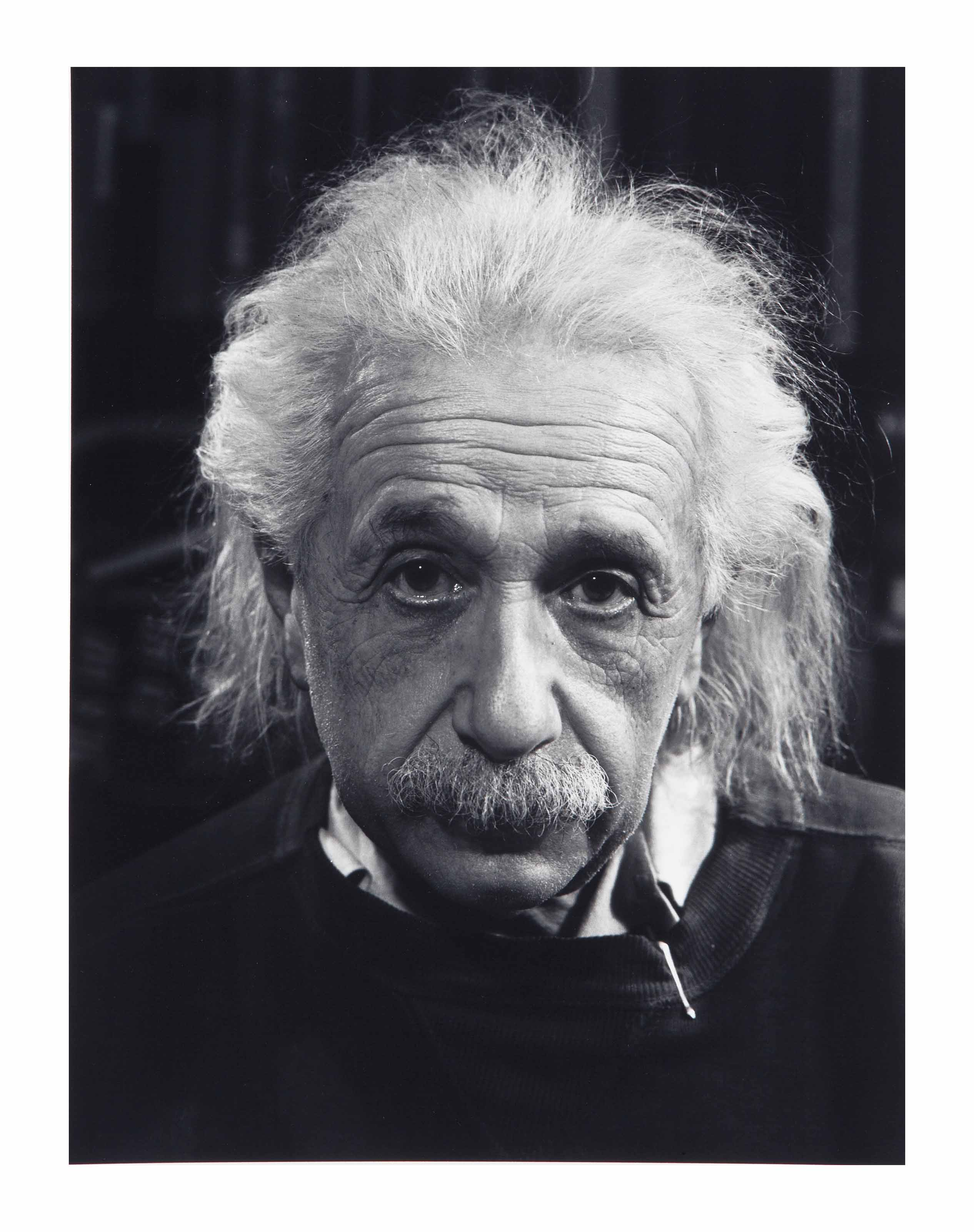 Professor Albert Einstein in his Study at Princeton, 1947