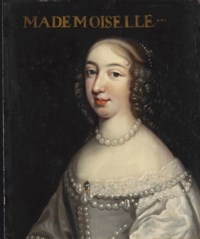 Portrait présumé d'Anne-Marie-Louise d'Orléans (1627-1693), dite la Grande Mademoiselle