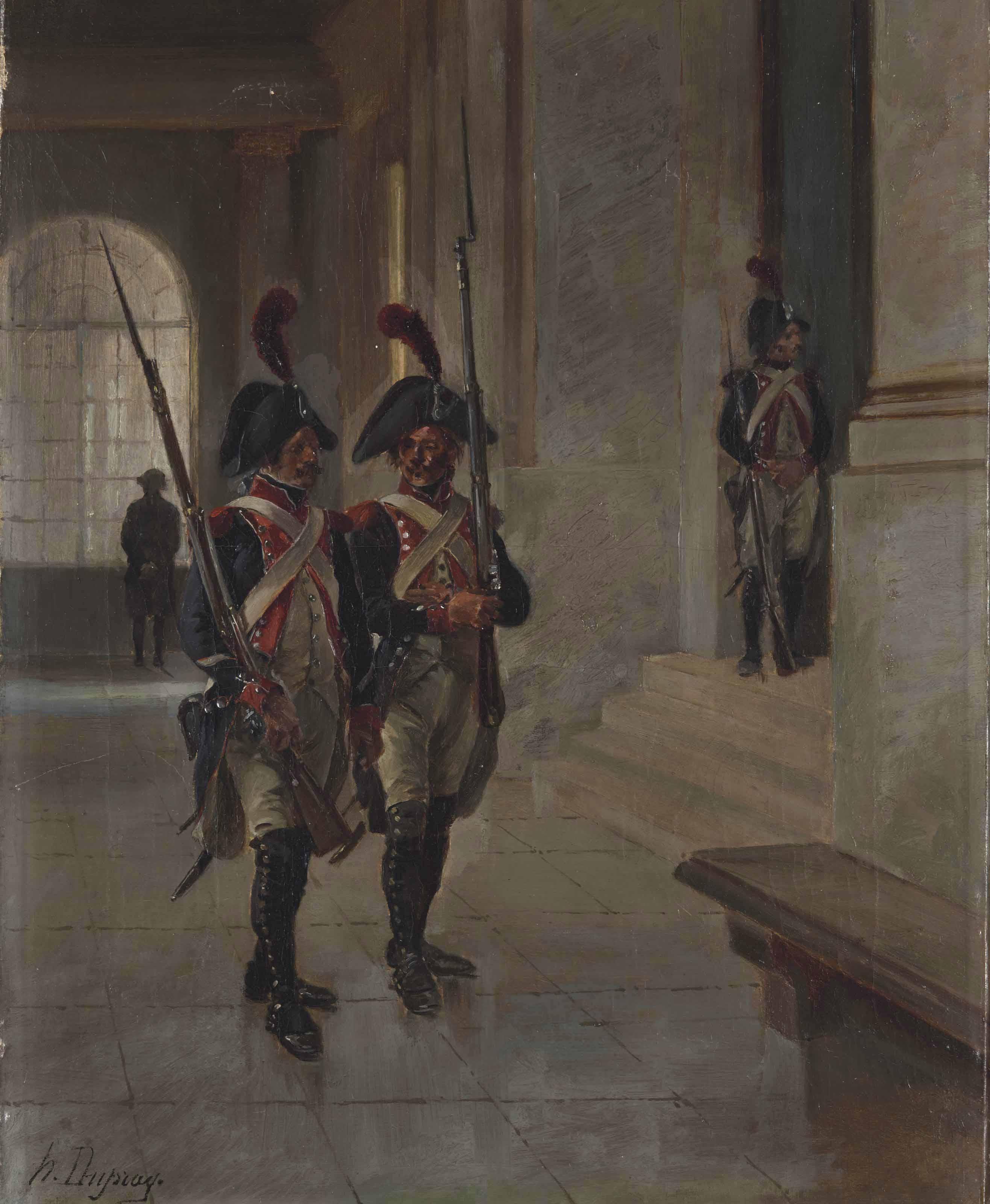 Deux gardes napoléoniens