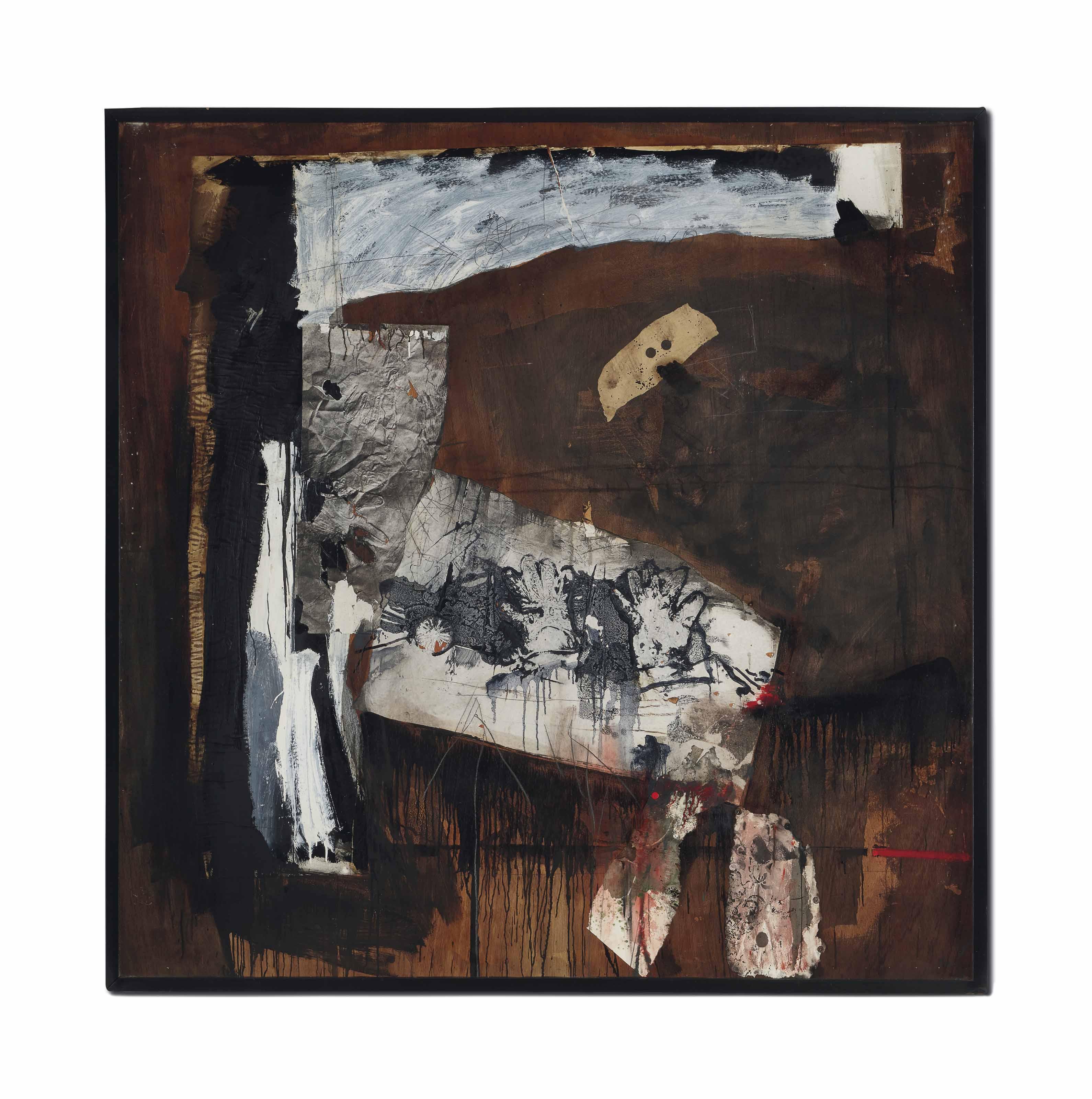 Peinture et collage