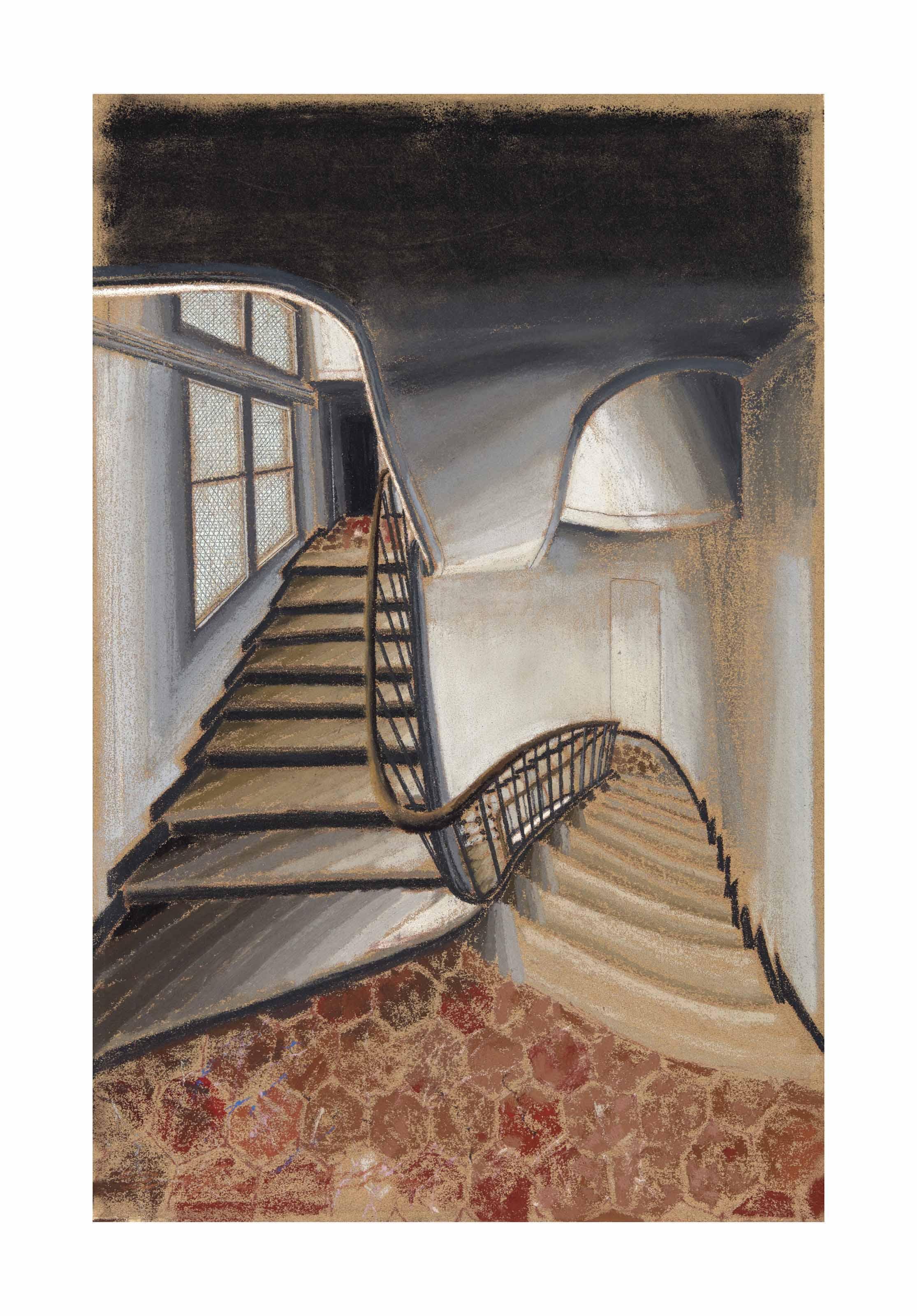 Escalier et intérieur