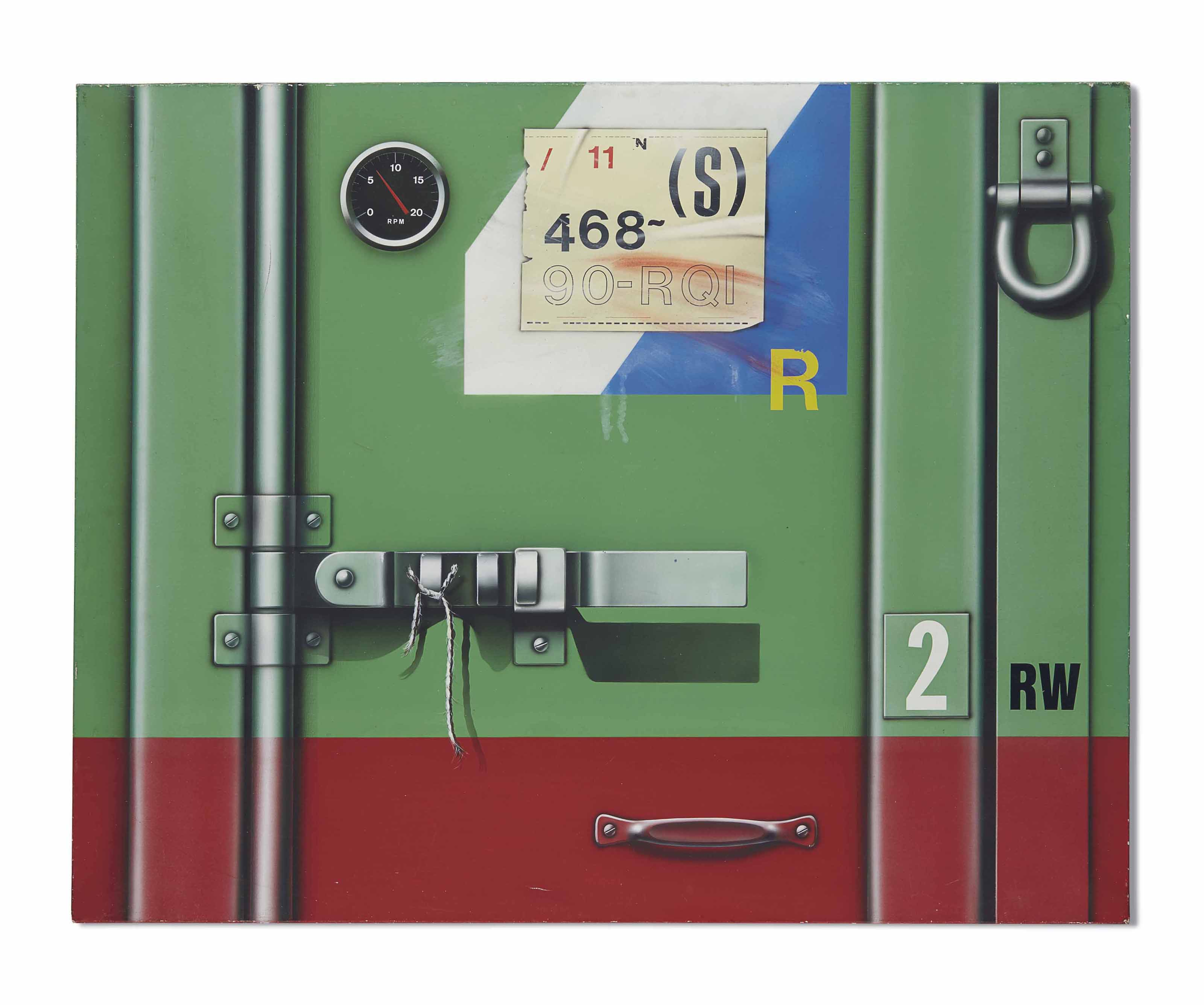Container rouge/vert 2 RW