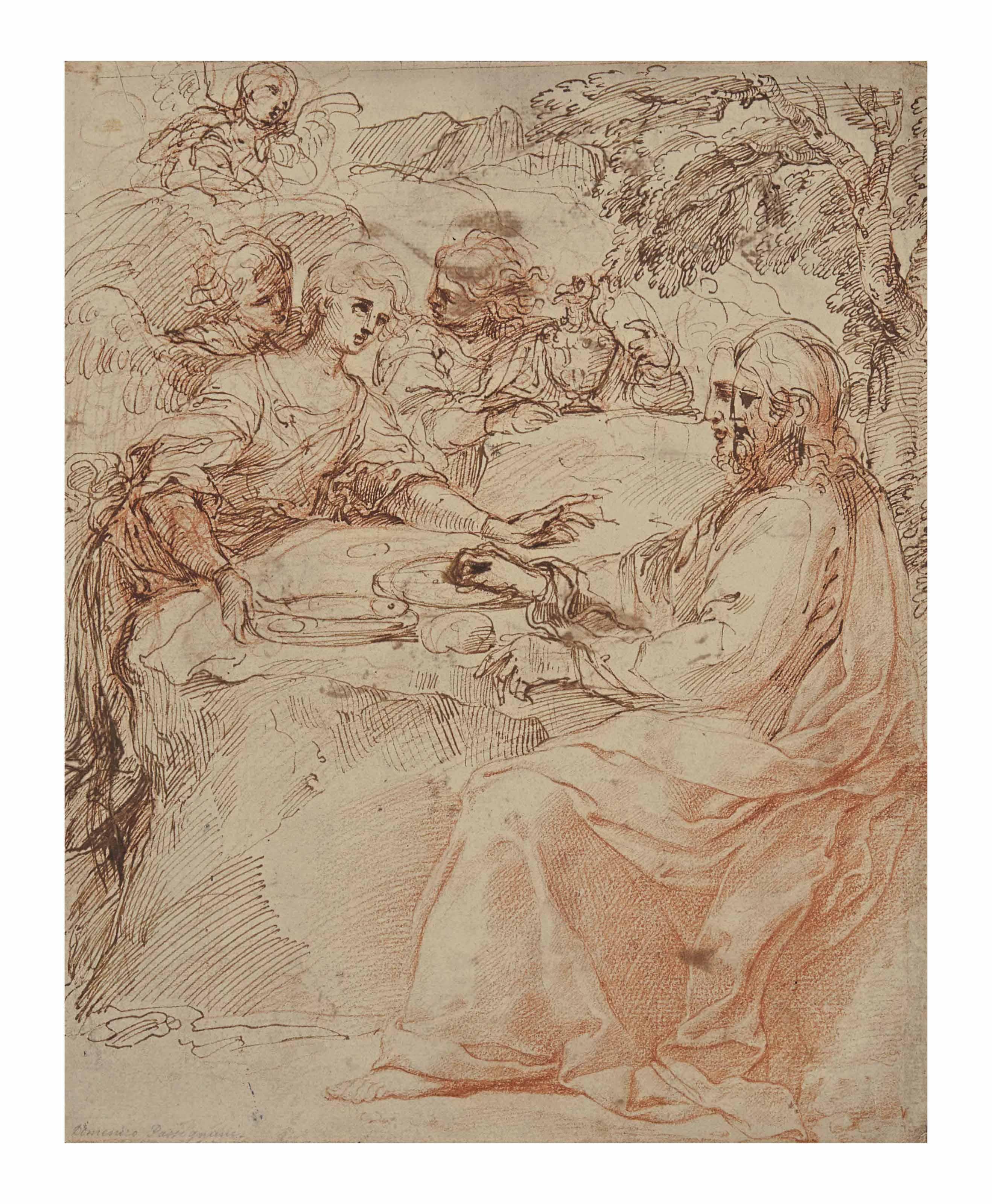 ATTRIBUÉ À AGOSTINO CARRACCI (BOLOGNE 1557-1602 PARME)