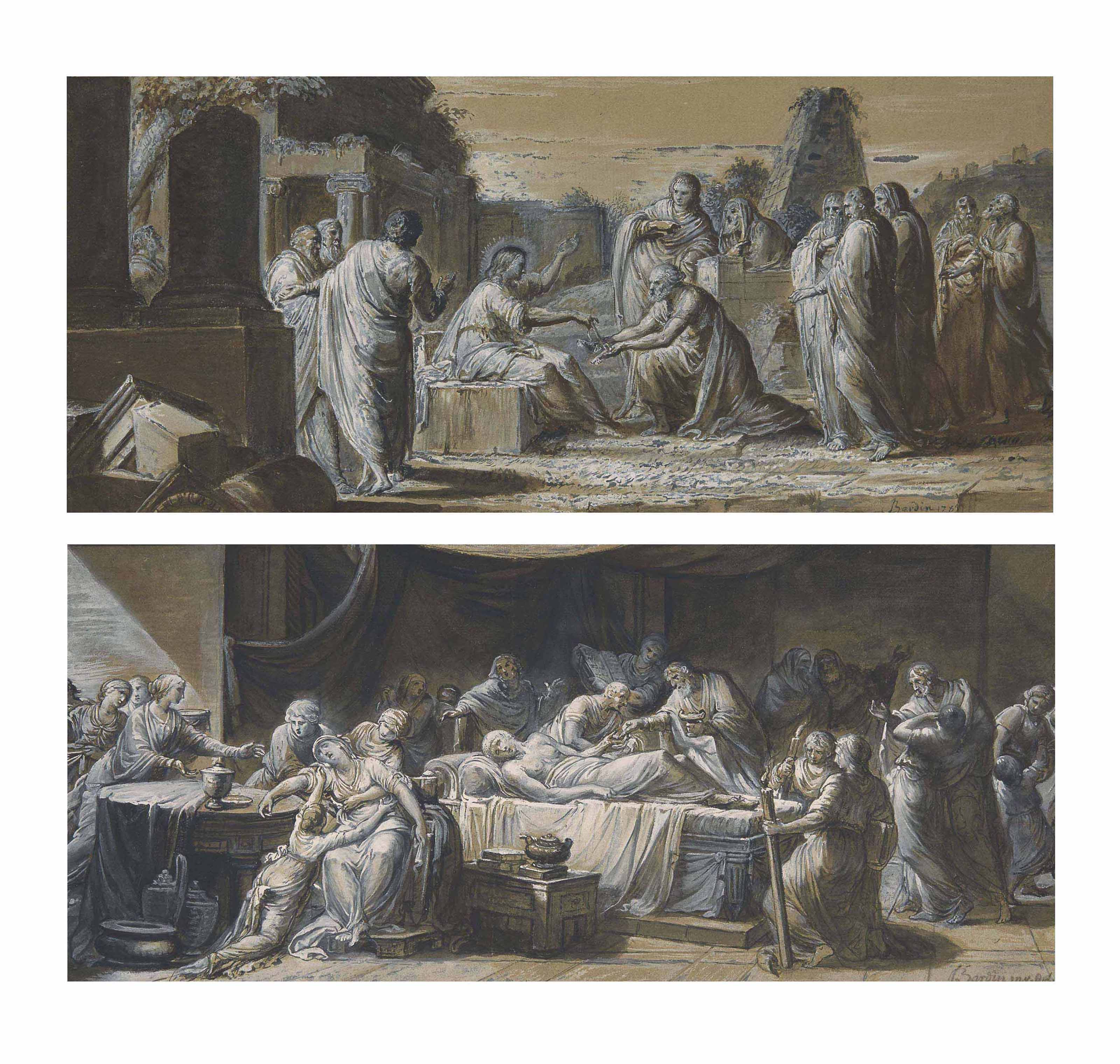 Trois sacrements : l'Ordre, la Confirmation et l'Extrême-onction