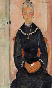 La vieille dame au collier ou Portrait d'Eudoxie Hébuterne