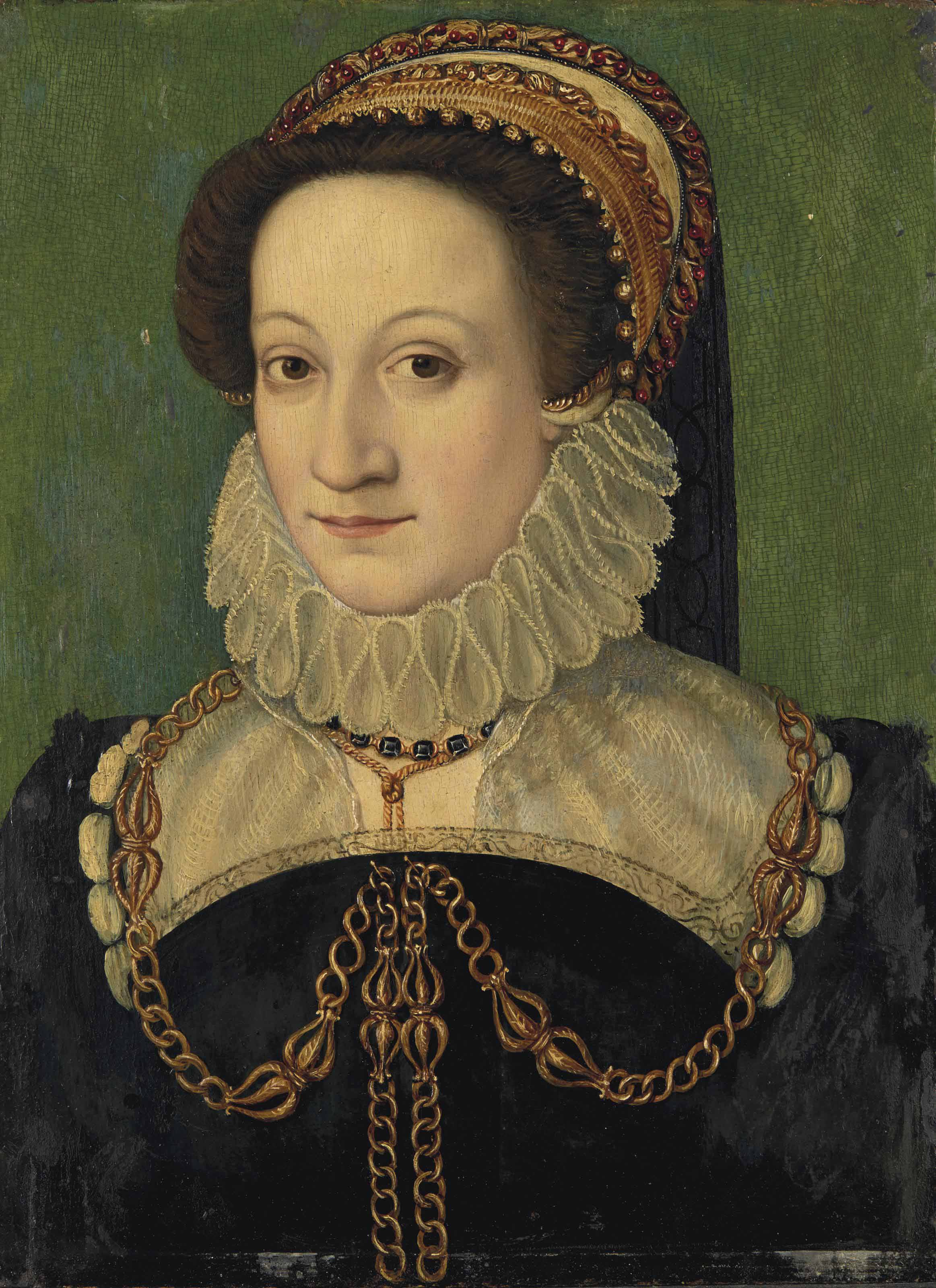 Portrait présumé de Catherine de Médicis (1519-1589), reine de France