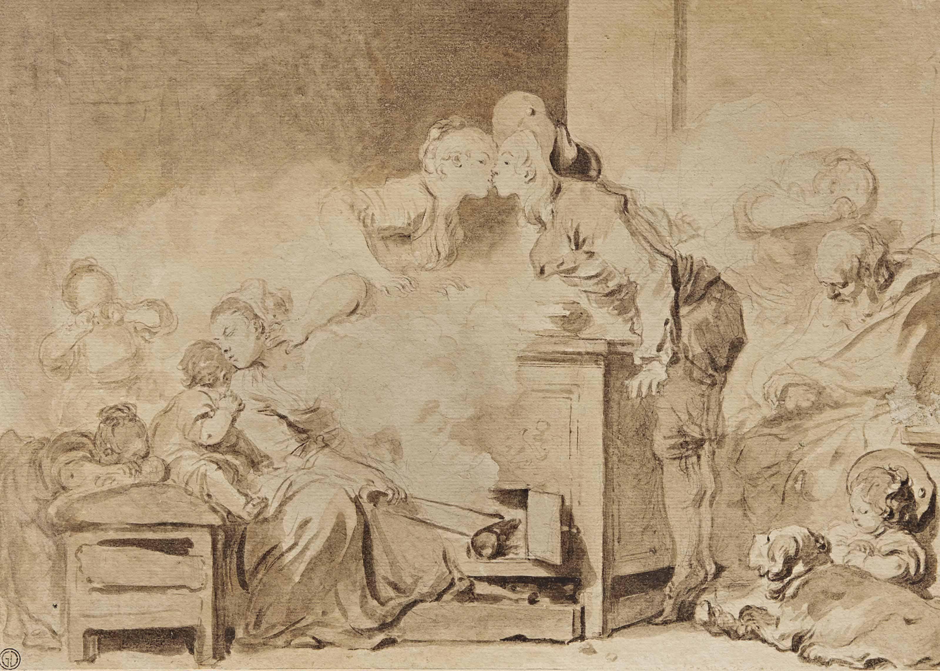 JEAN-HONORÉ FRAGONARD (GRASSE 1732-1806 PARIS)