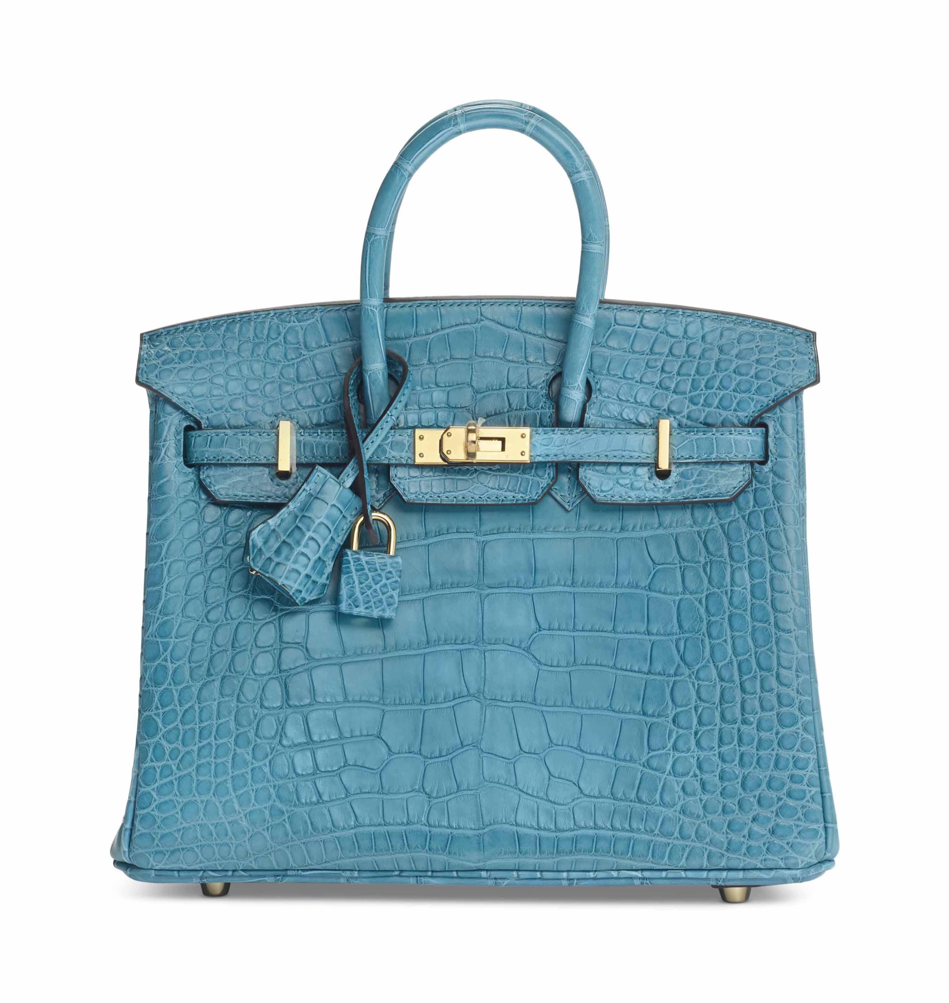 c5148930ef ... where to buy sac birkin 25 en alligator mat bleu paon hermÈs f1445 14dc8